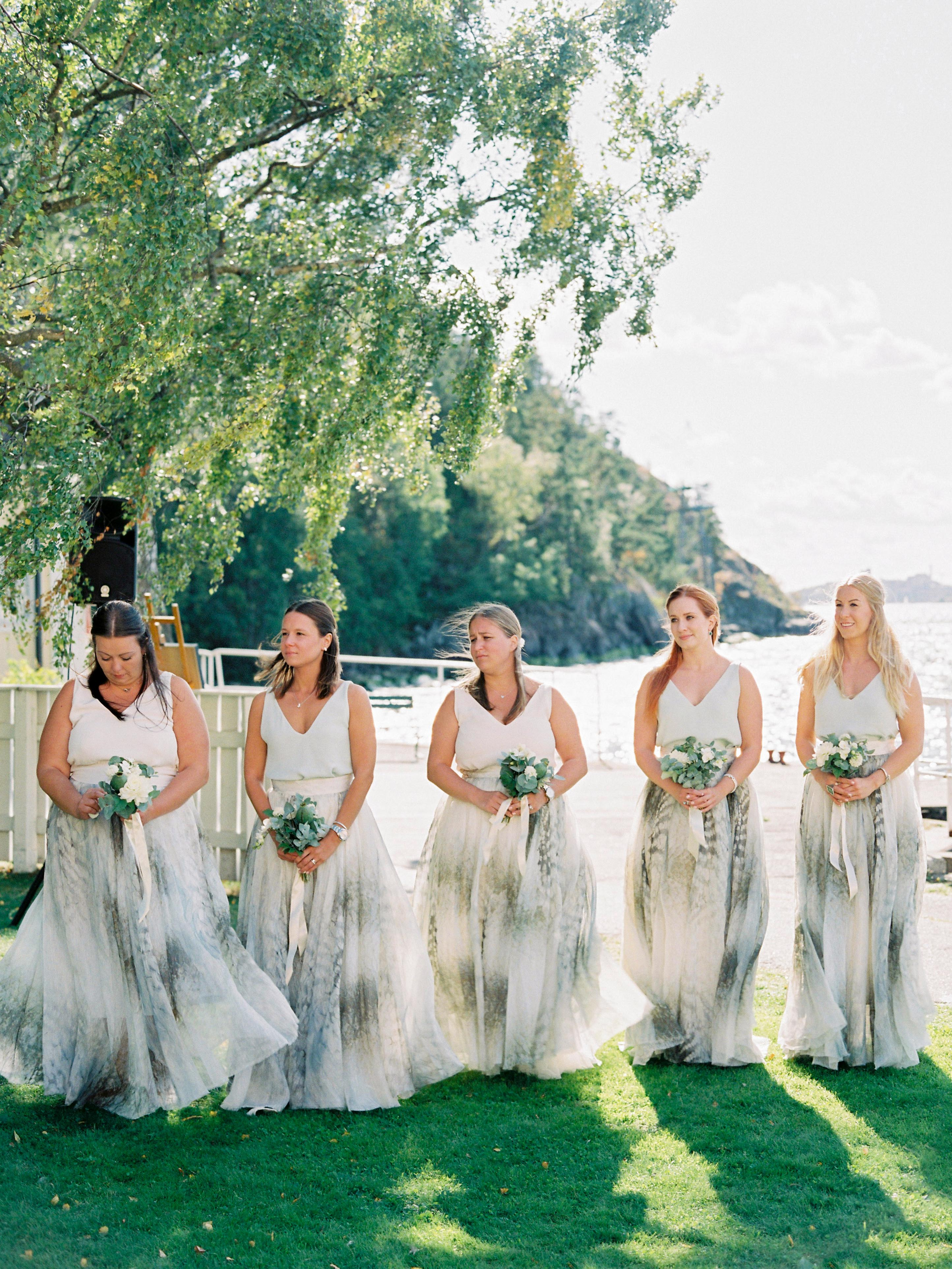 two piece bridesmaids isabelle hesselberg 2brides patterned