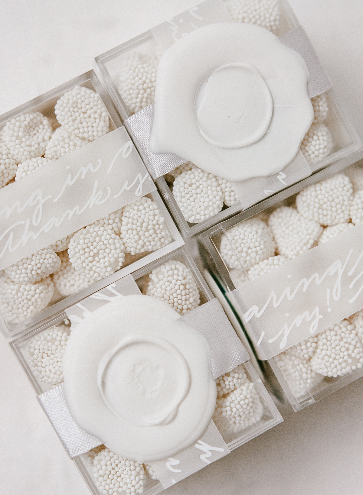 vellum labels for treat boxes