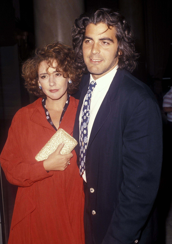 celebrity weddings year you were born george clooney talia balsam