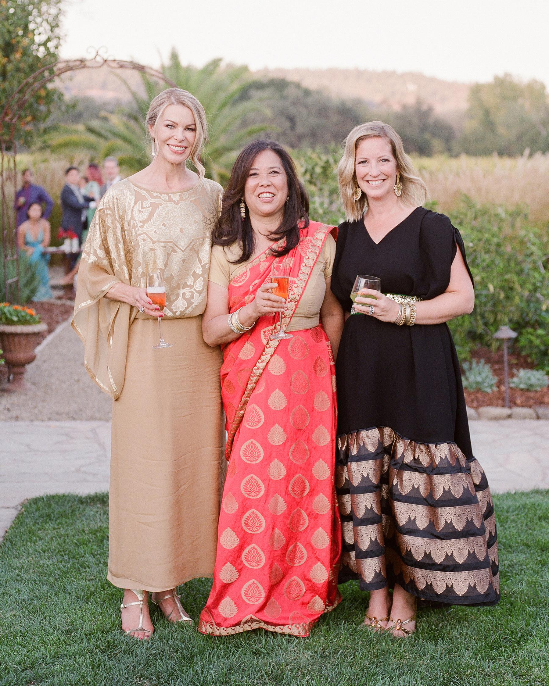 jenna alok wedding wine country california guests