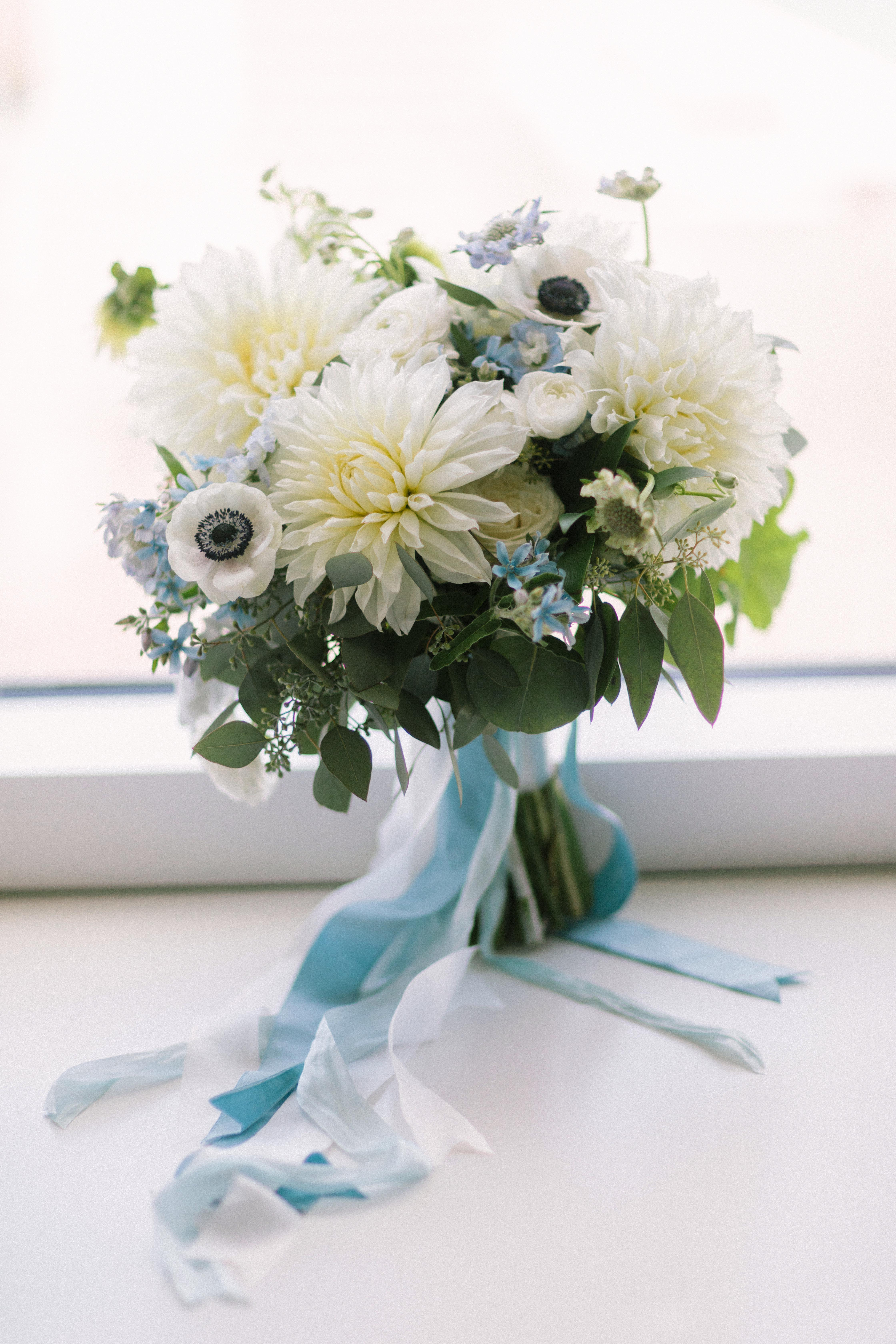 blue bouquet tim tab studios reveldecor