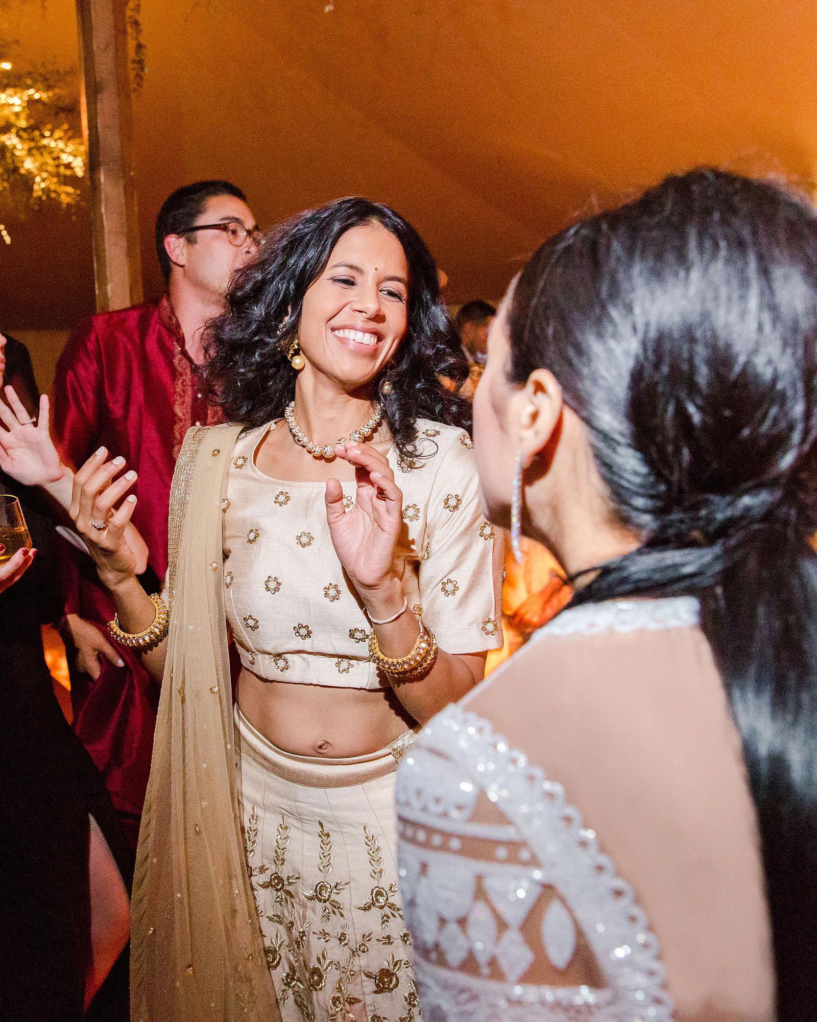 jenna alok wedding wine country california guests dance floor