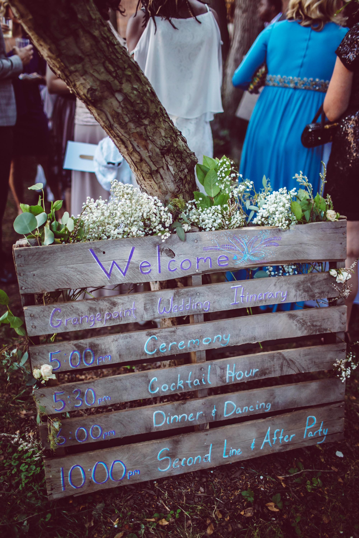 vasthy mason wedding sign