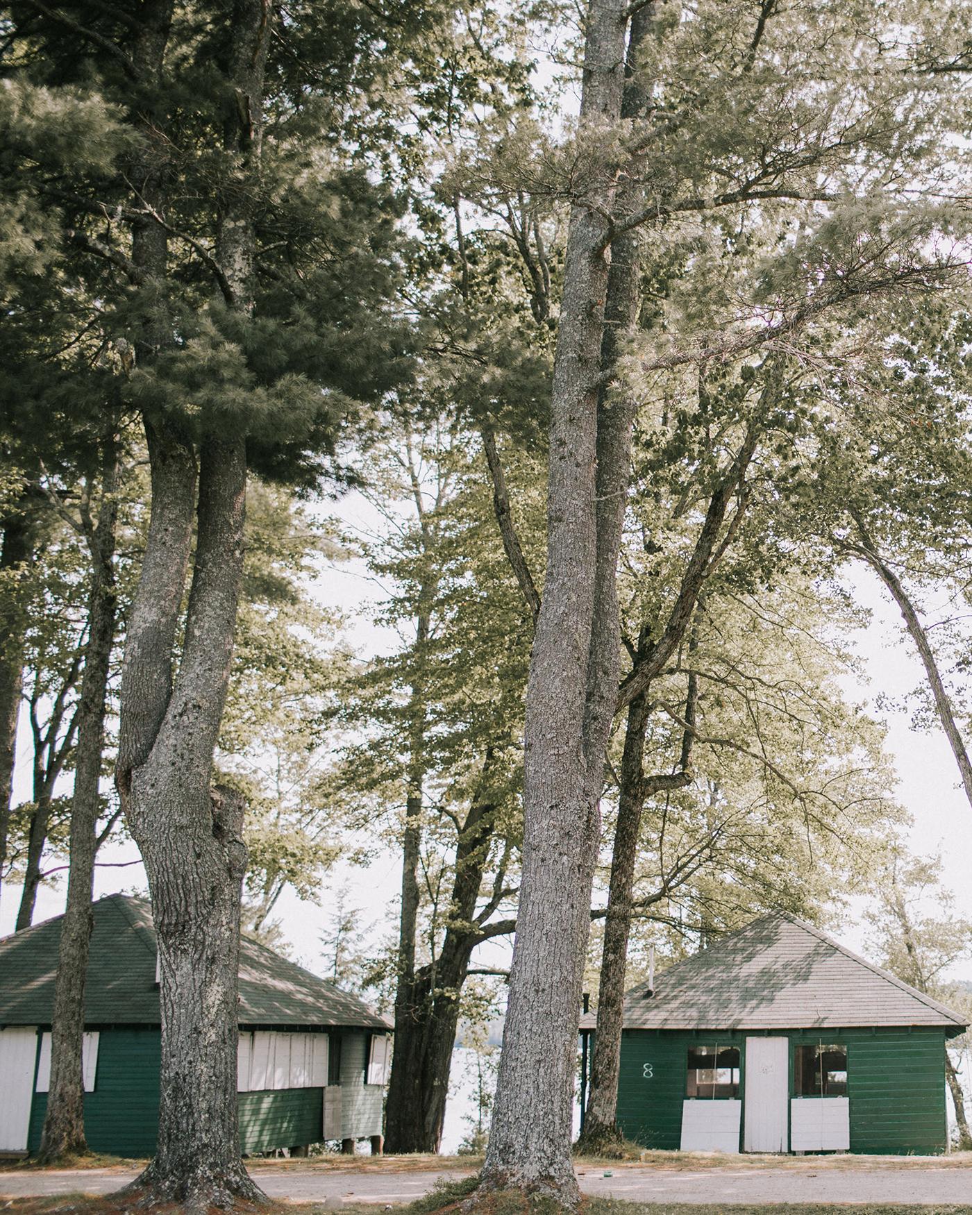 sofi ben camp weekend bunks among the trees
