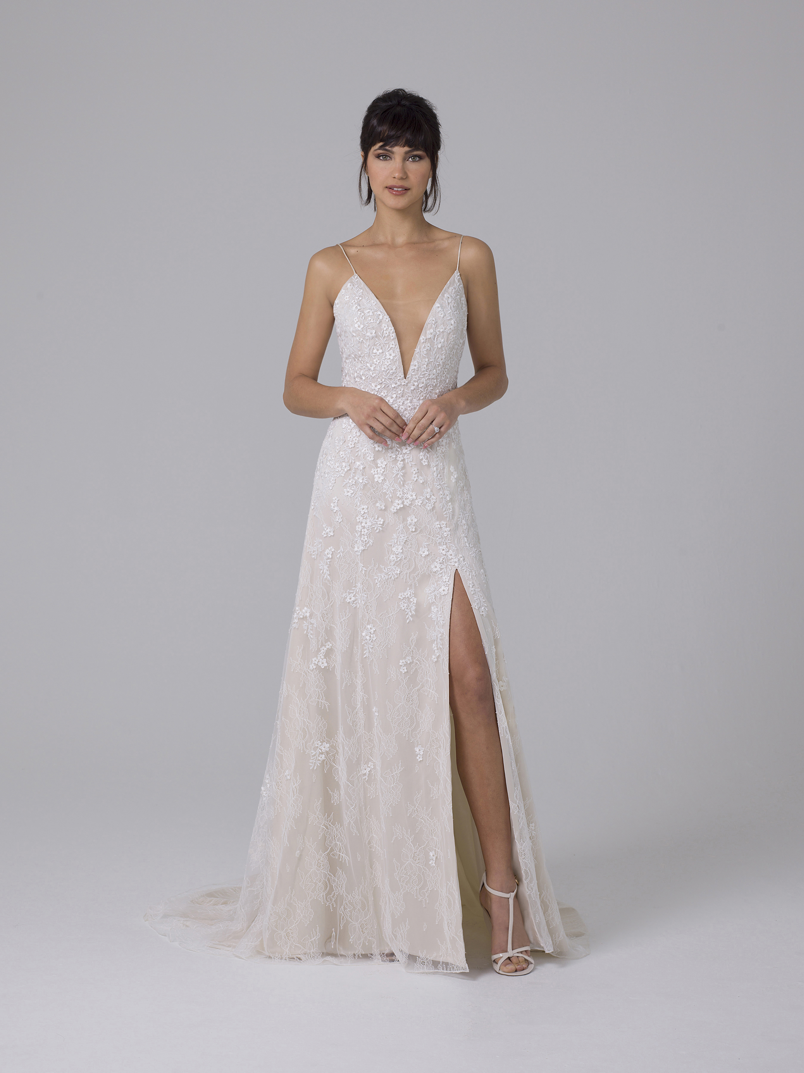 Liancarlo v-neck wedding dress fall 2019