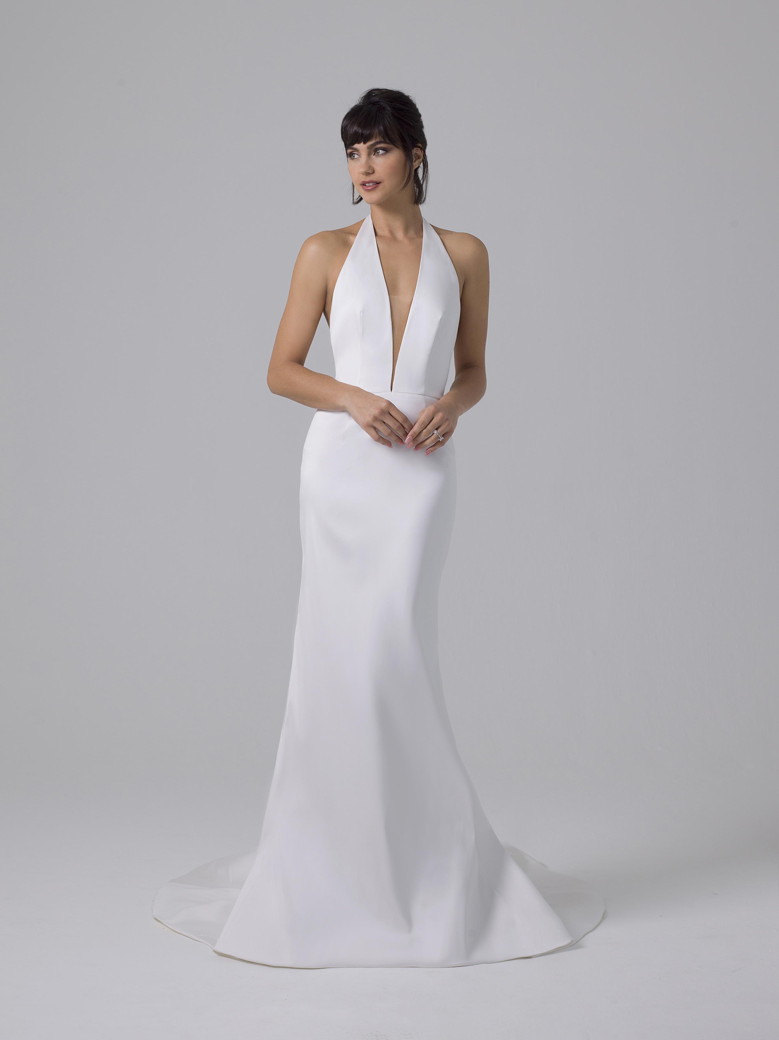 Liancarlo halter wedding dress fall 2019