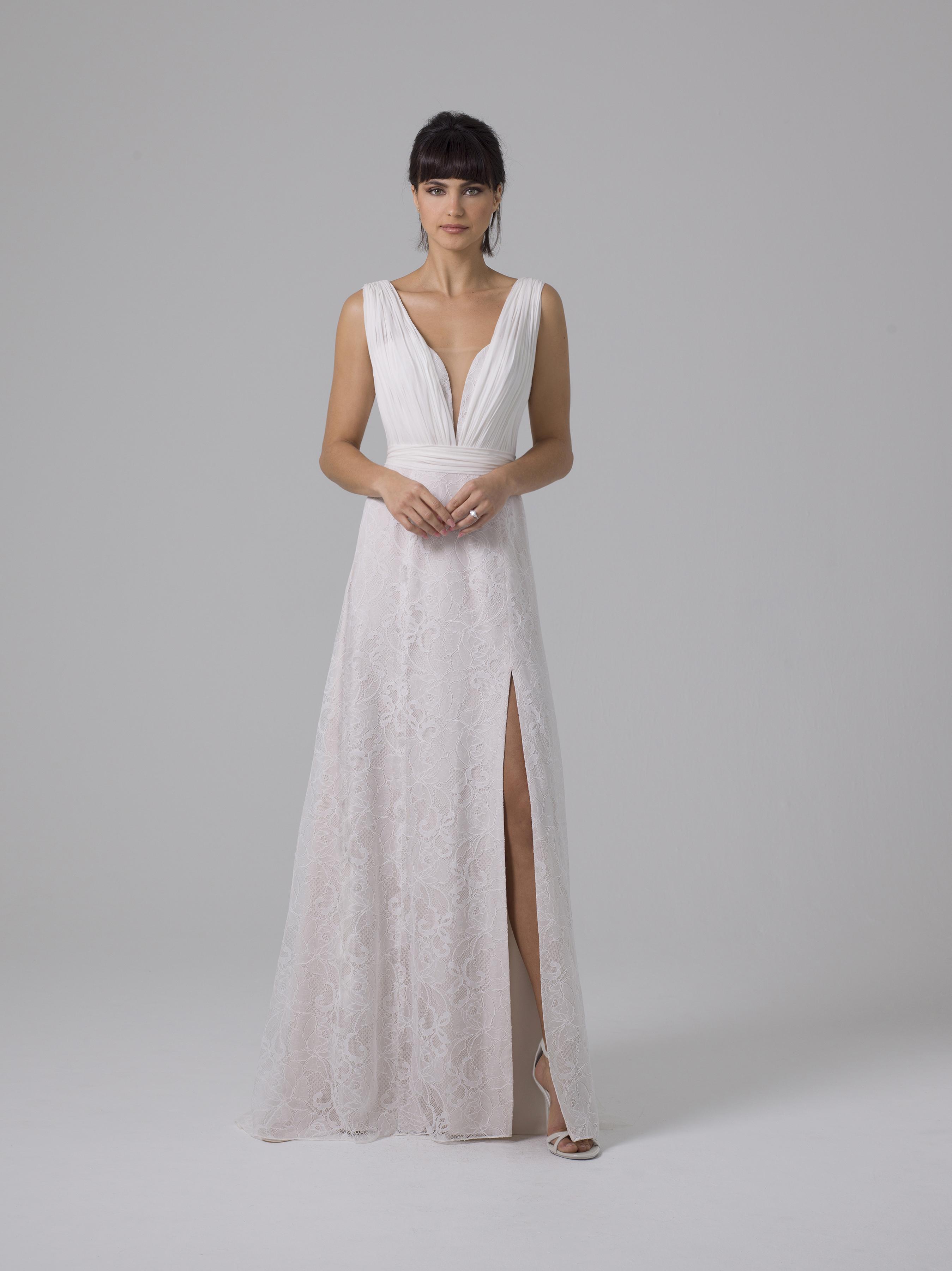 Liancarlo lace wedding dress fall 2019
