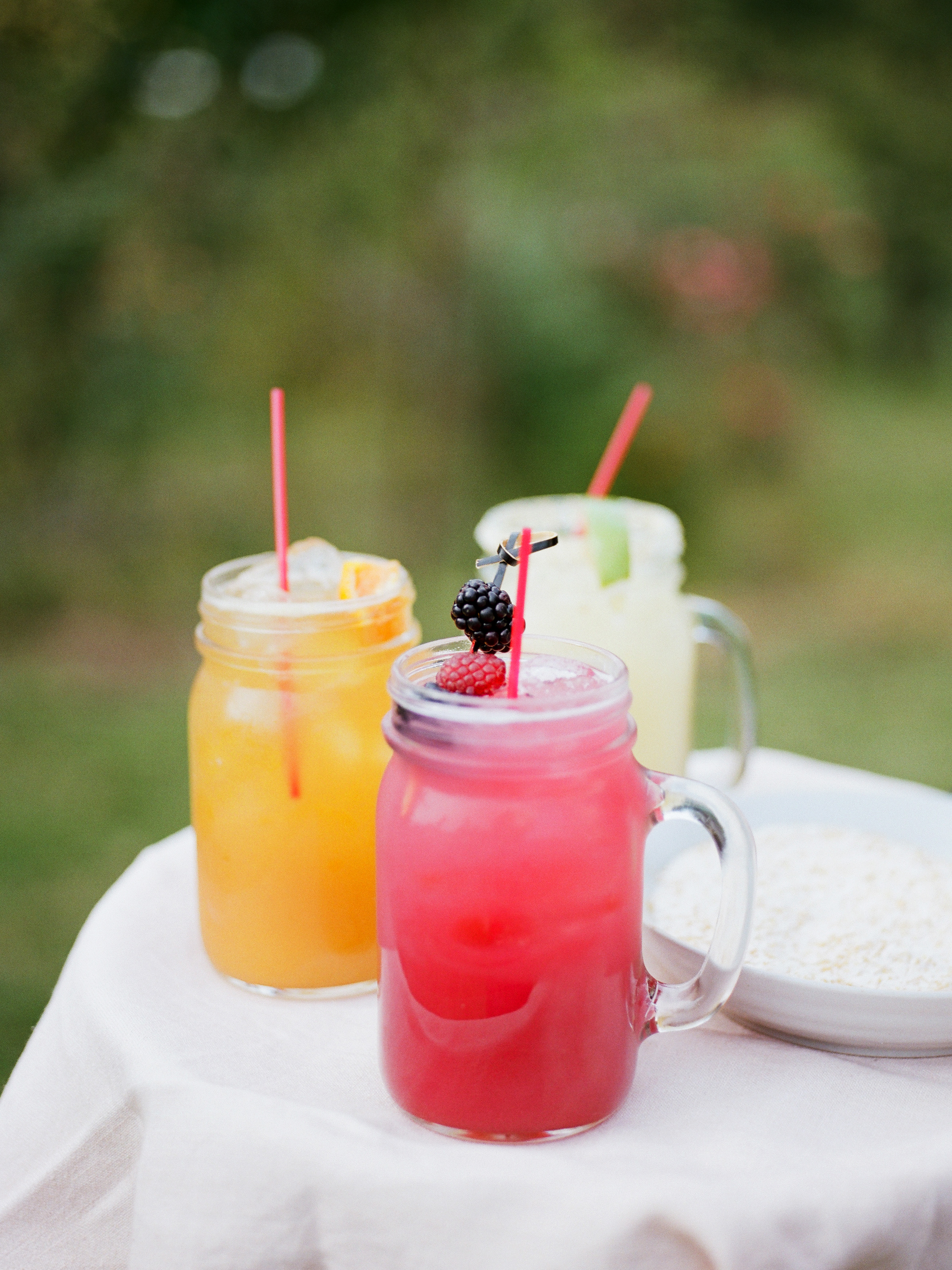 A Trio of Signature Drinks