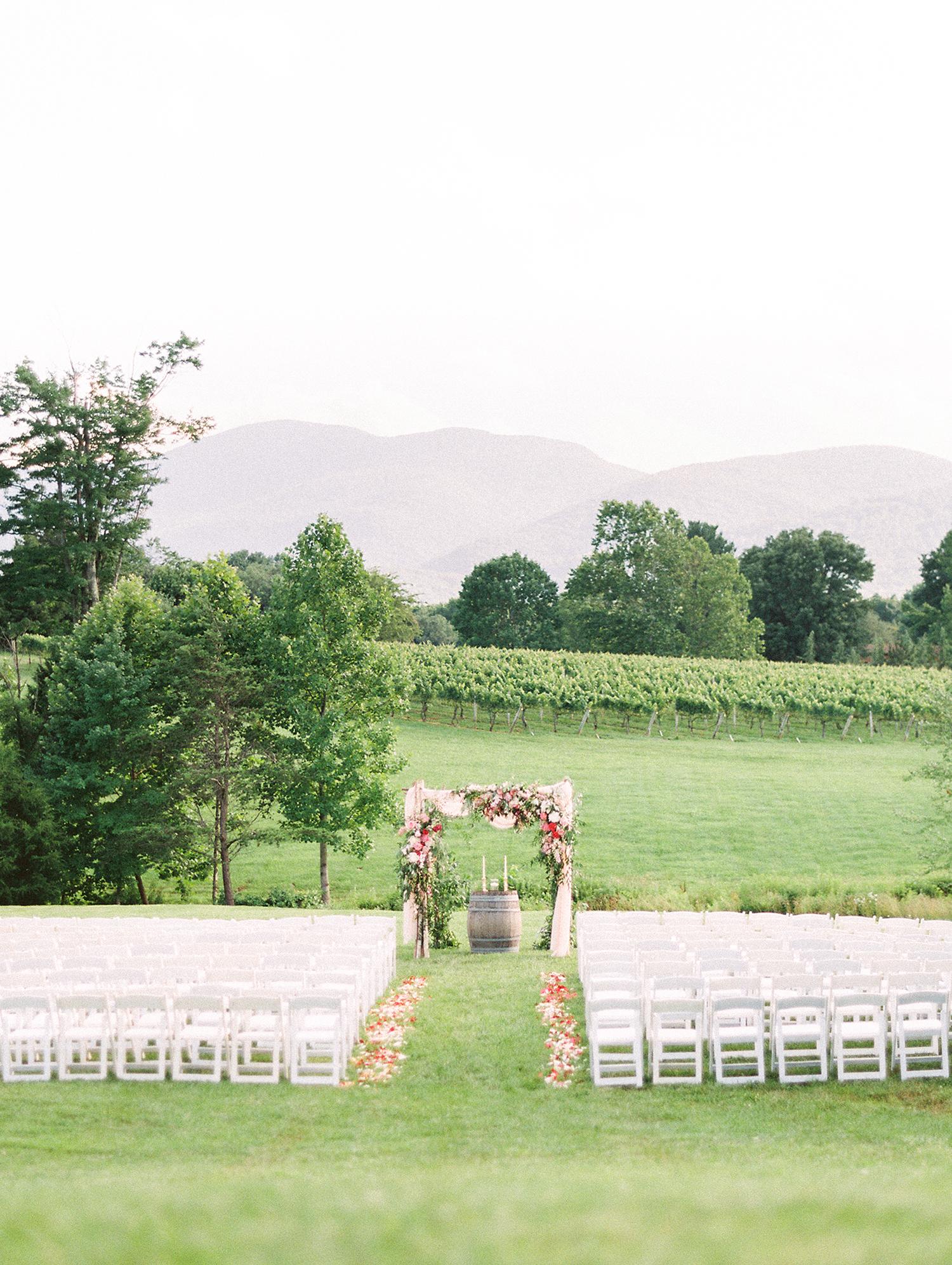 dawn rich wedding ceremony location