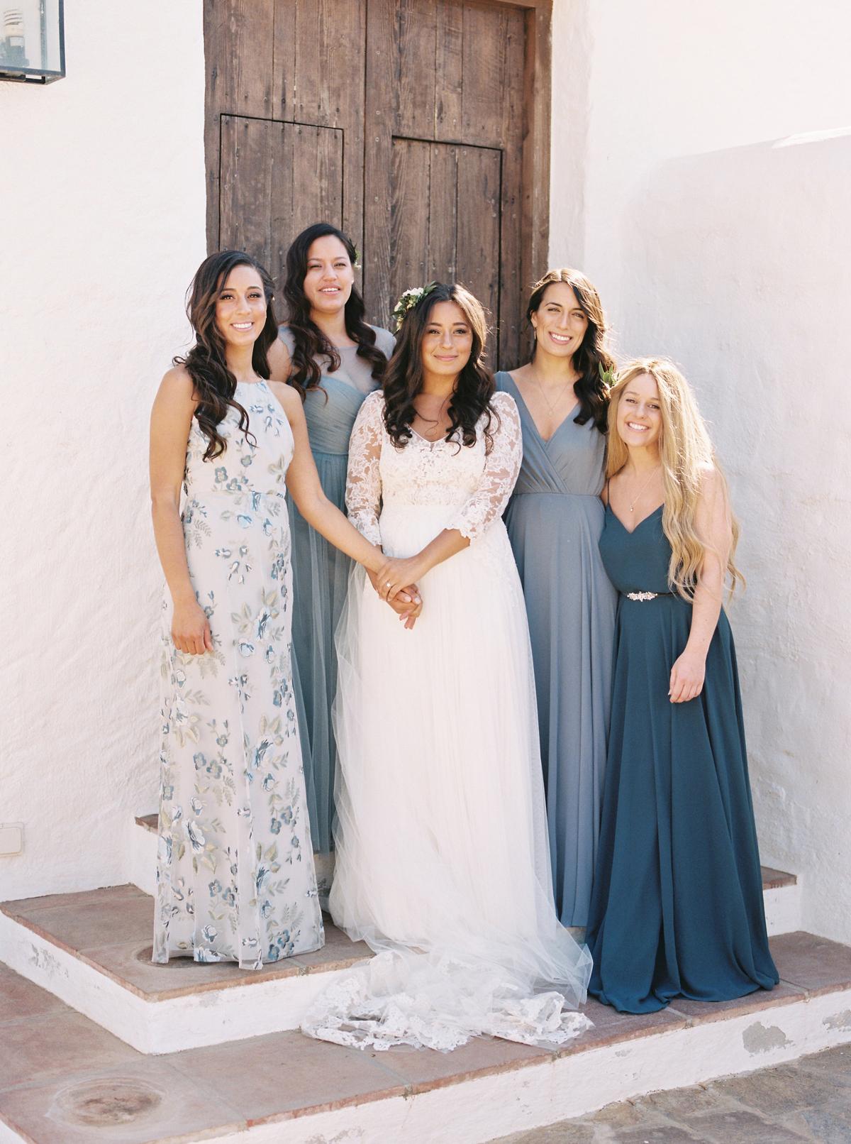 daphne jack wedding spain bridesmaids