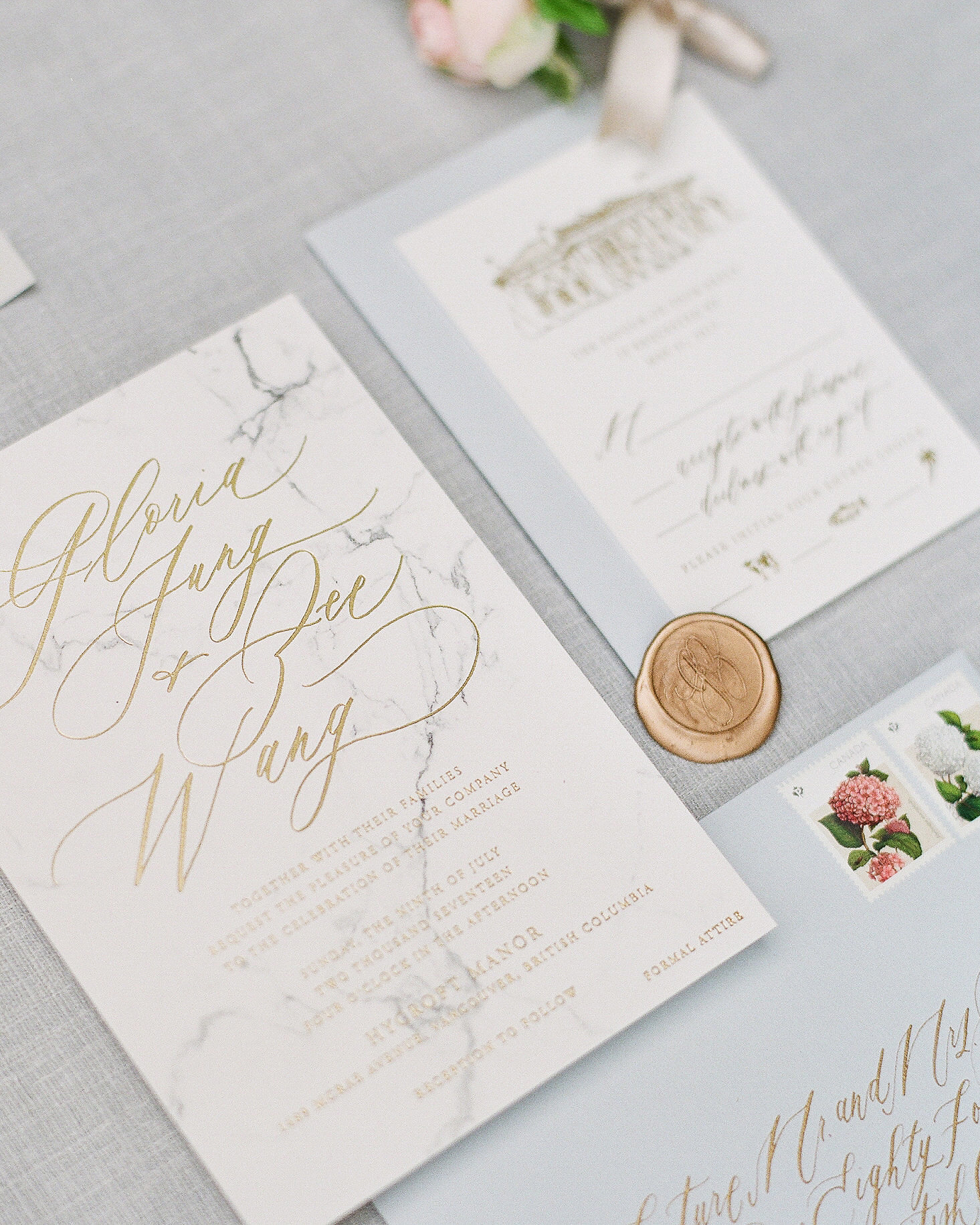 gloria zee wedding stationery