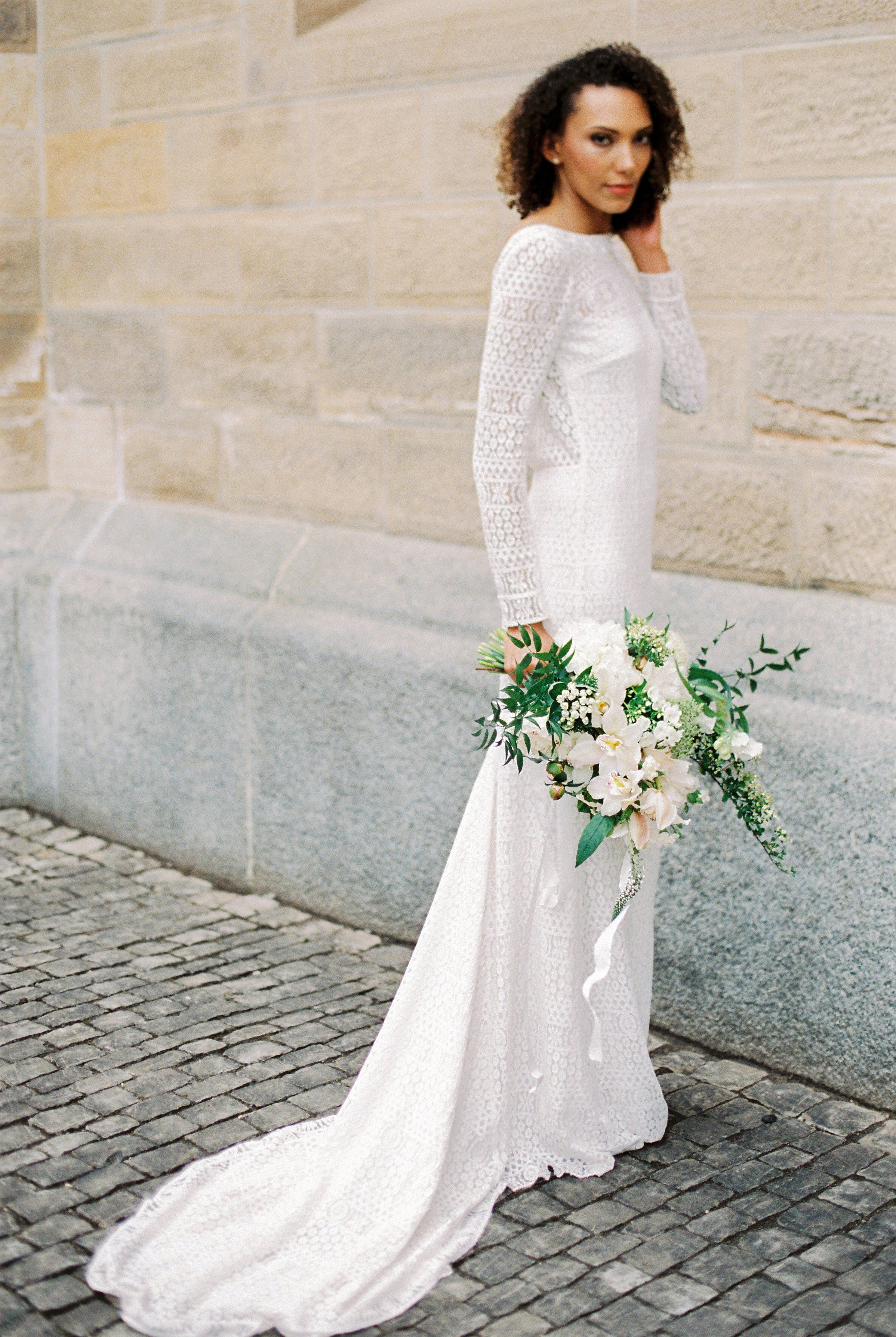 boat neck wedding dresses anna tereshina