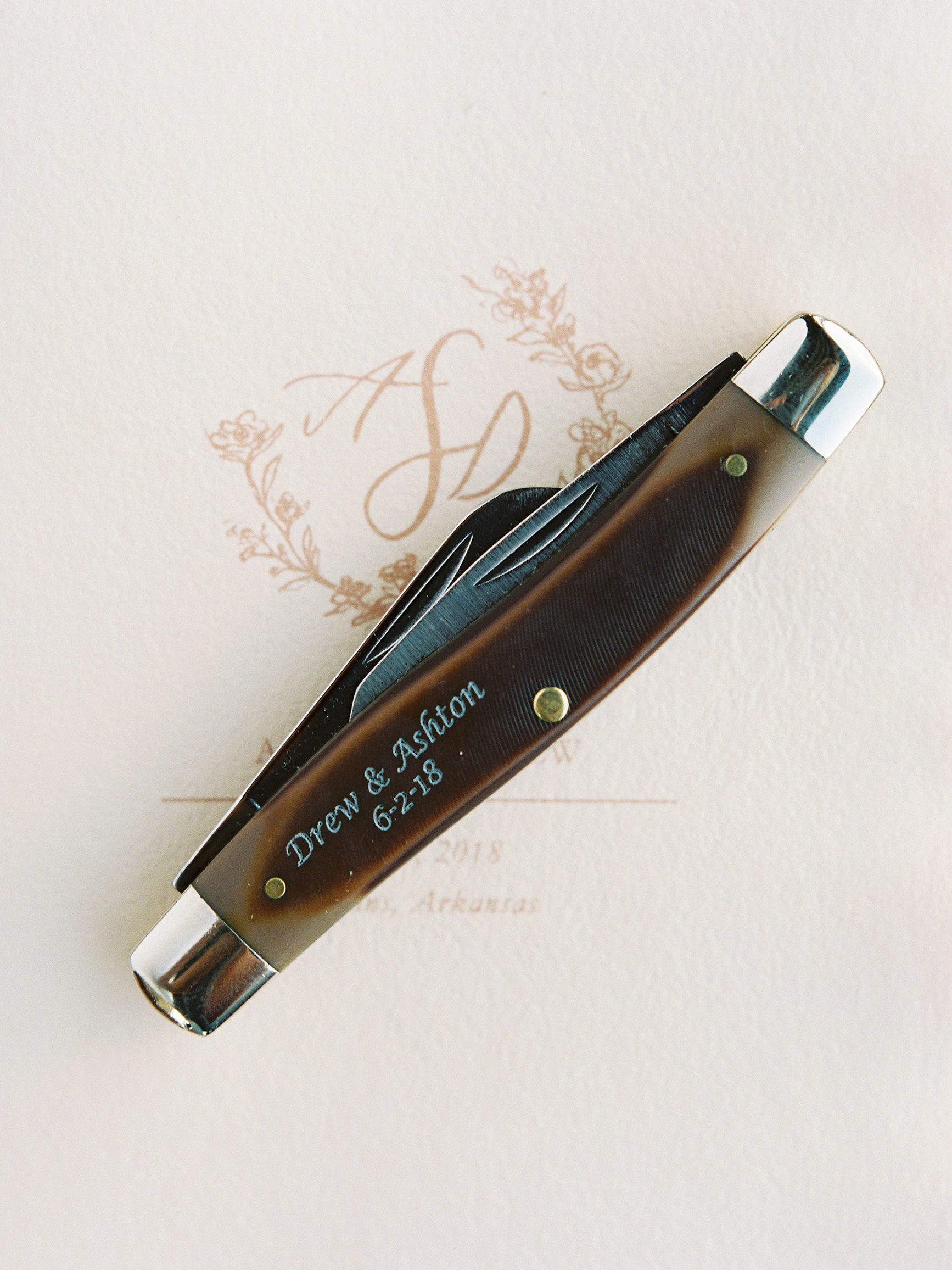 personalized engraved pocket knife