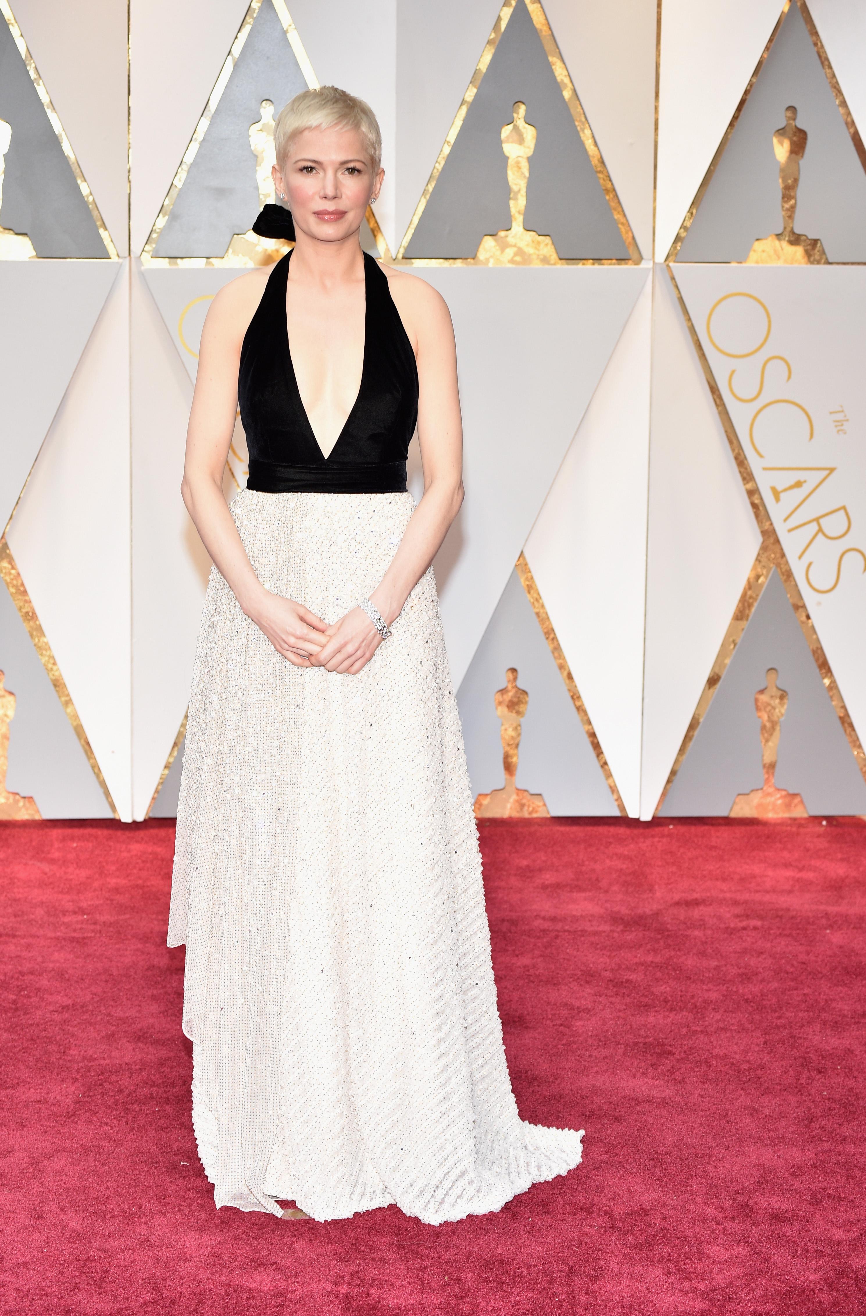 Michelle Williams 2017 OscarsRed Carpet