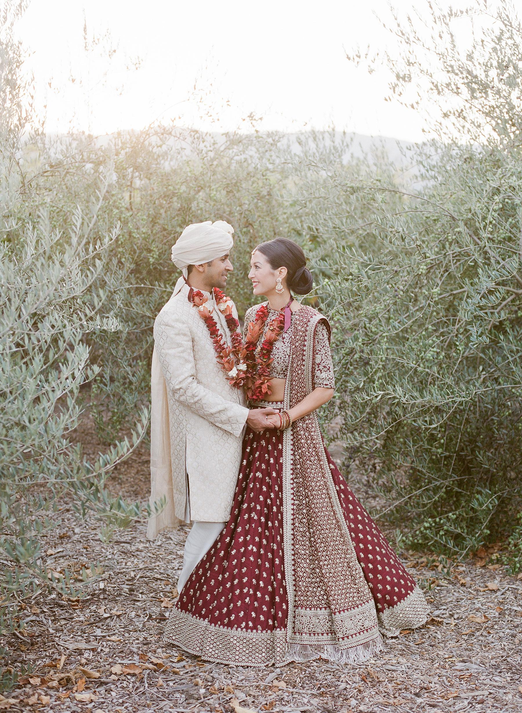 jenna alok wedding wine country california couple