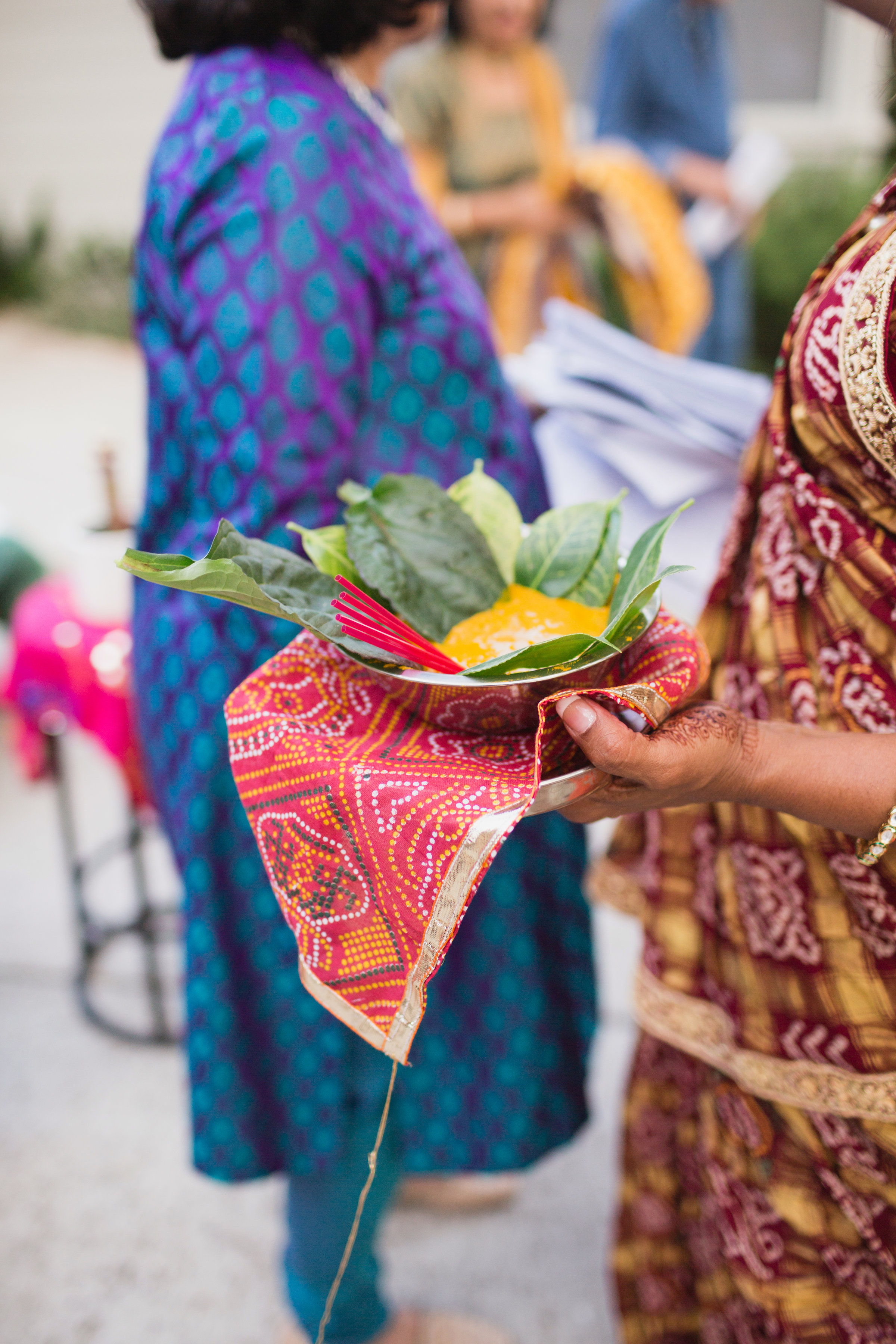 indian wedding turmeric ritual