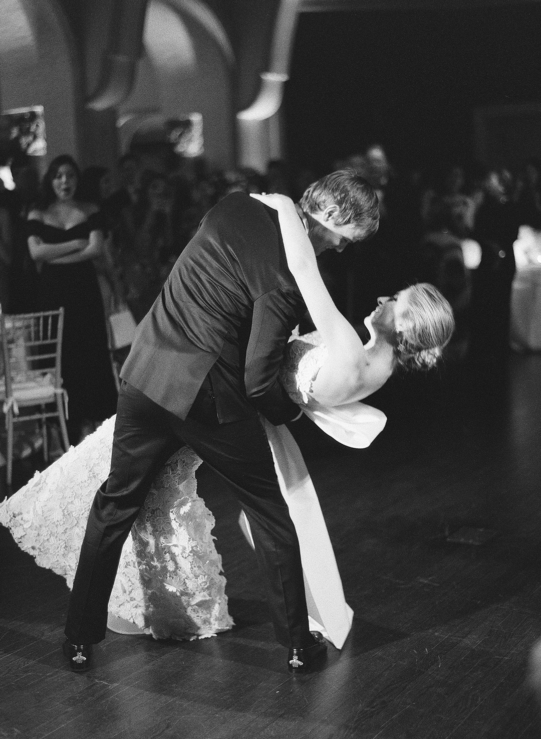 chelsea conor wedding first dance dip