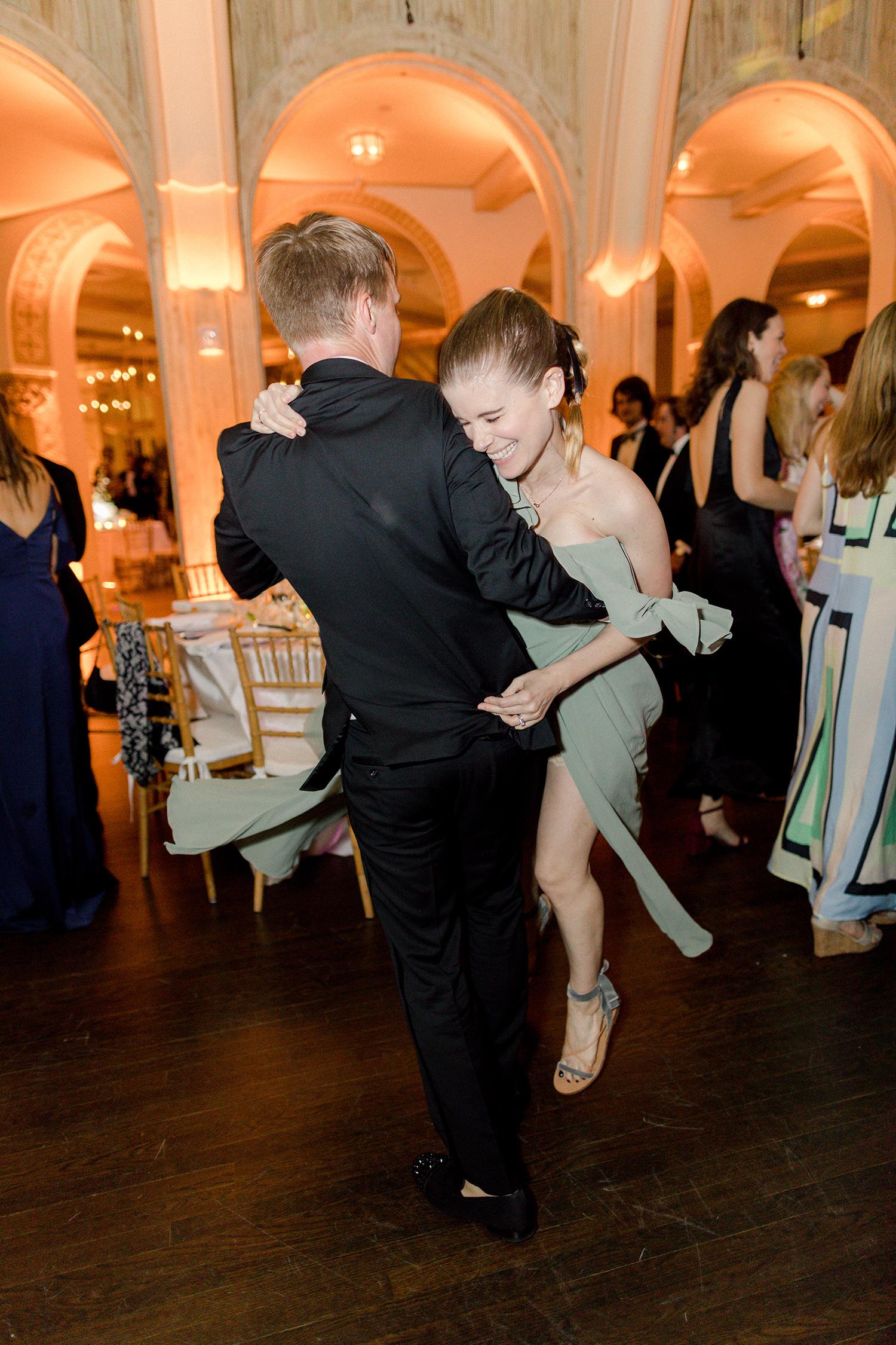 chelsea conor wedding dancing