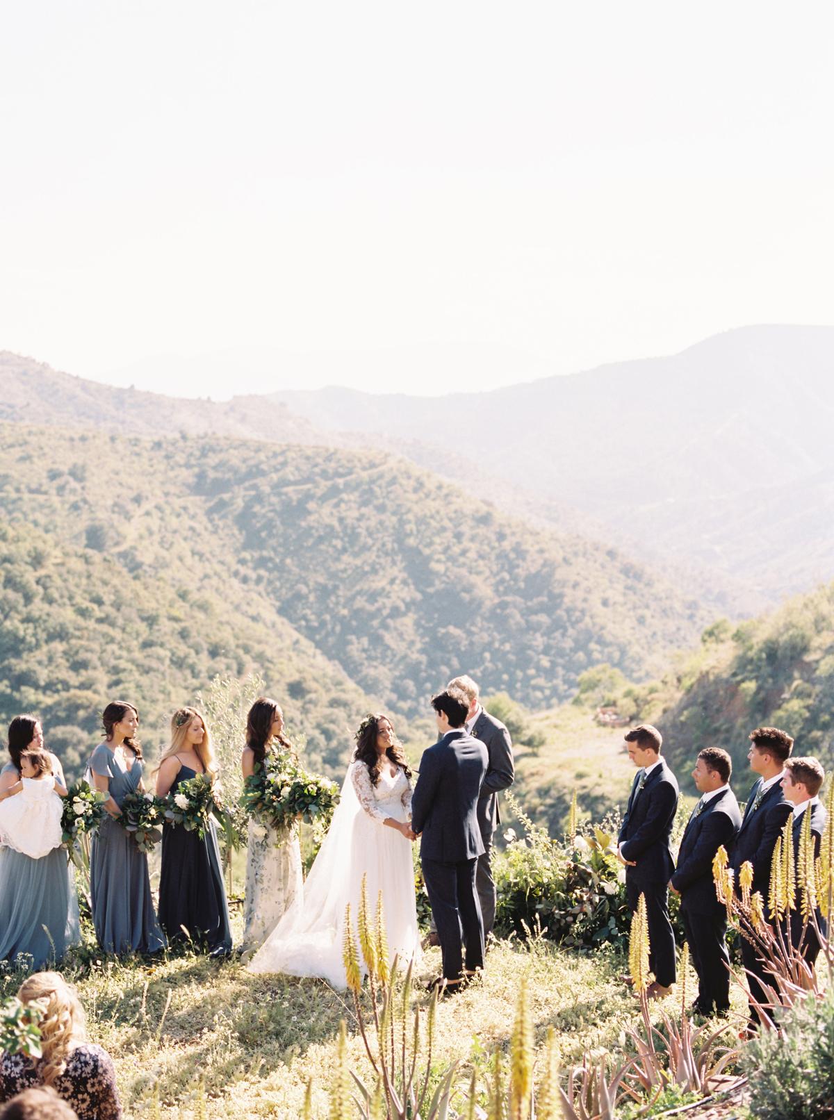 daphne jack wedding spain ceremony on mountains