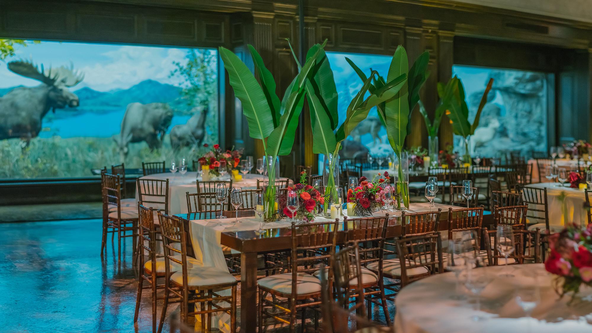 duff goldman johnna colbry wedding reception space