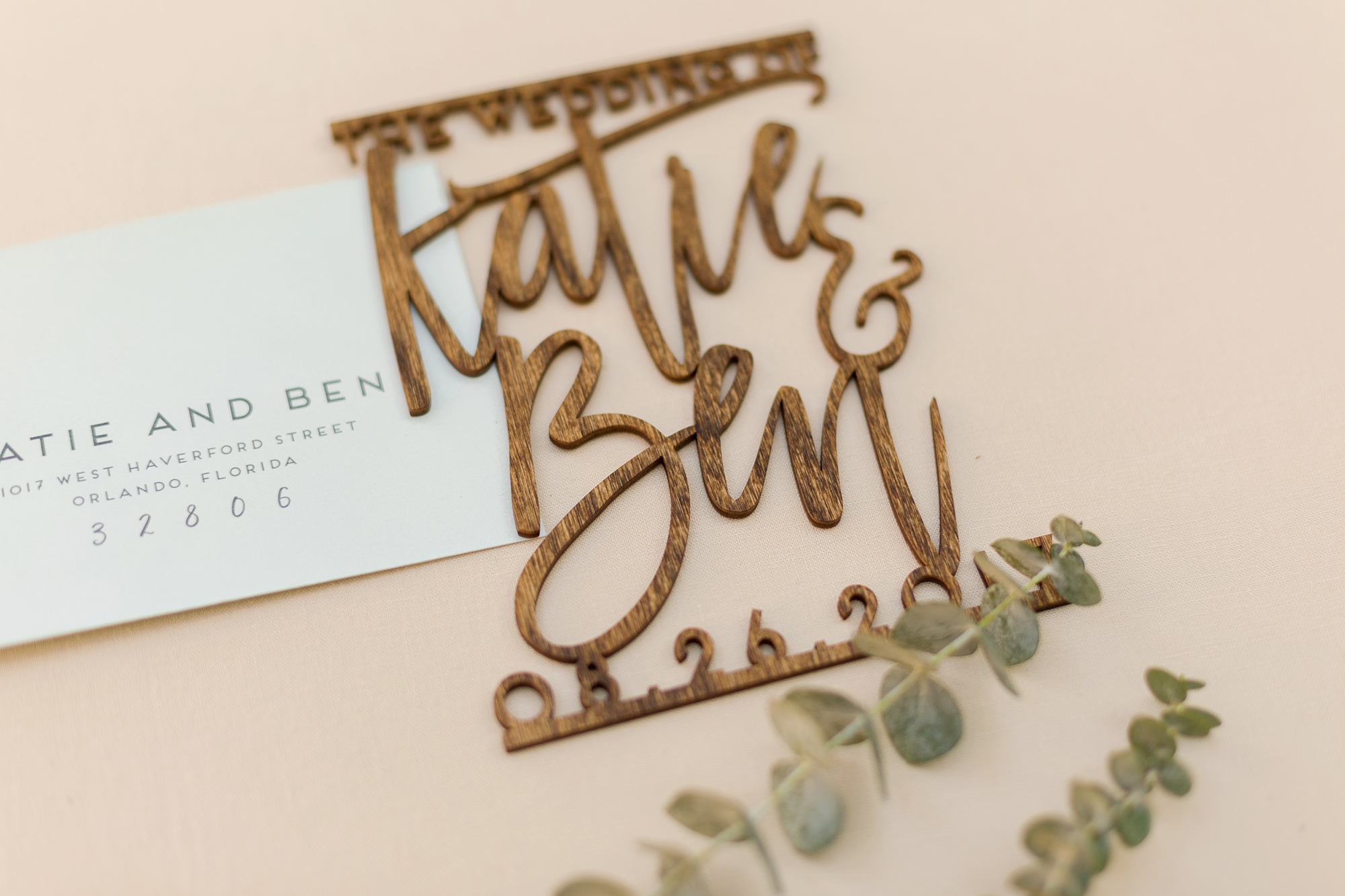 Laser-Cut Wedding Invitation