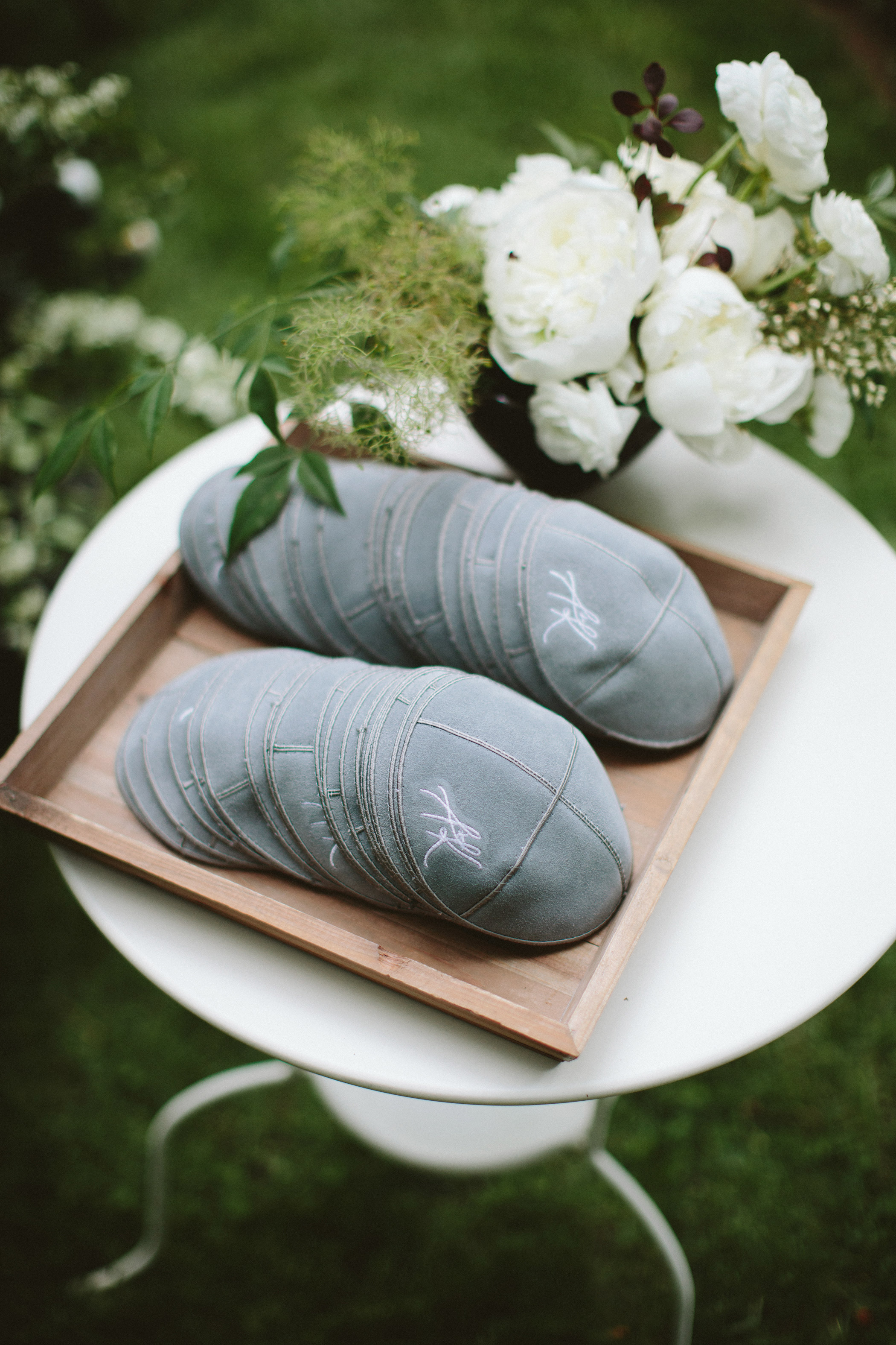 wedding yarmulkes
