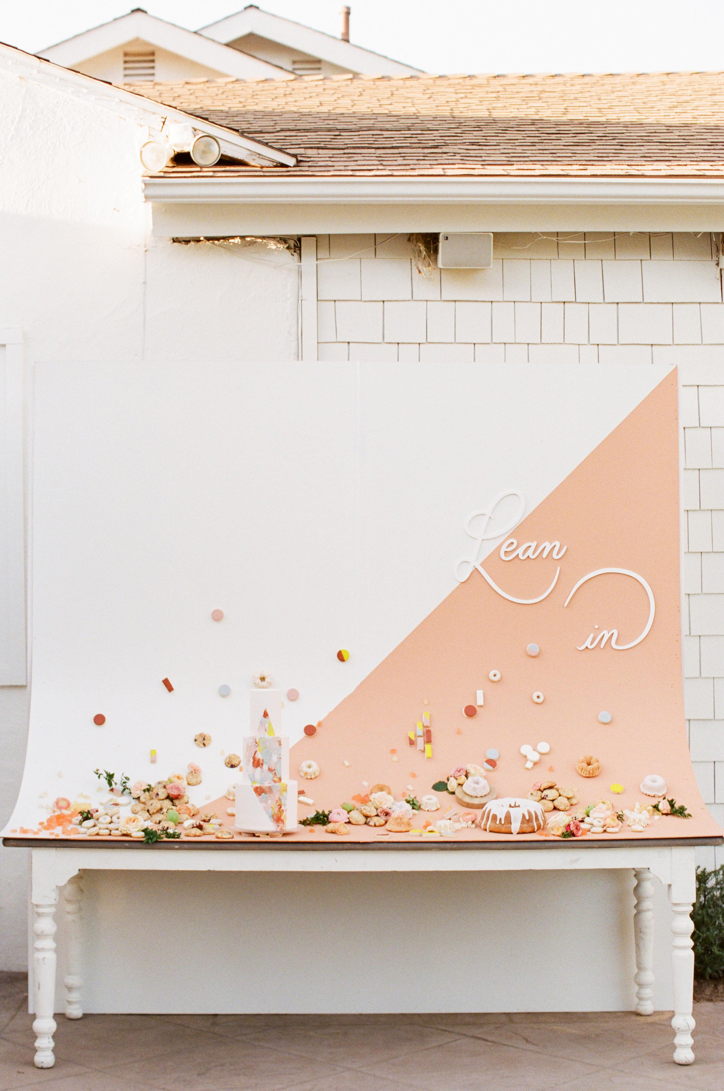 Tenley molzahn taylor leopold wedding desserts