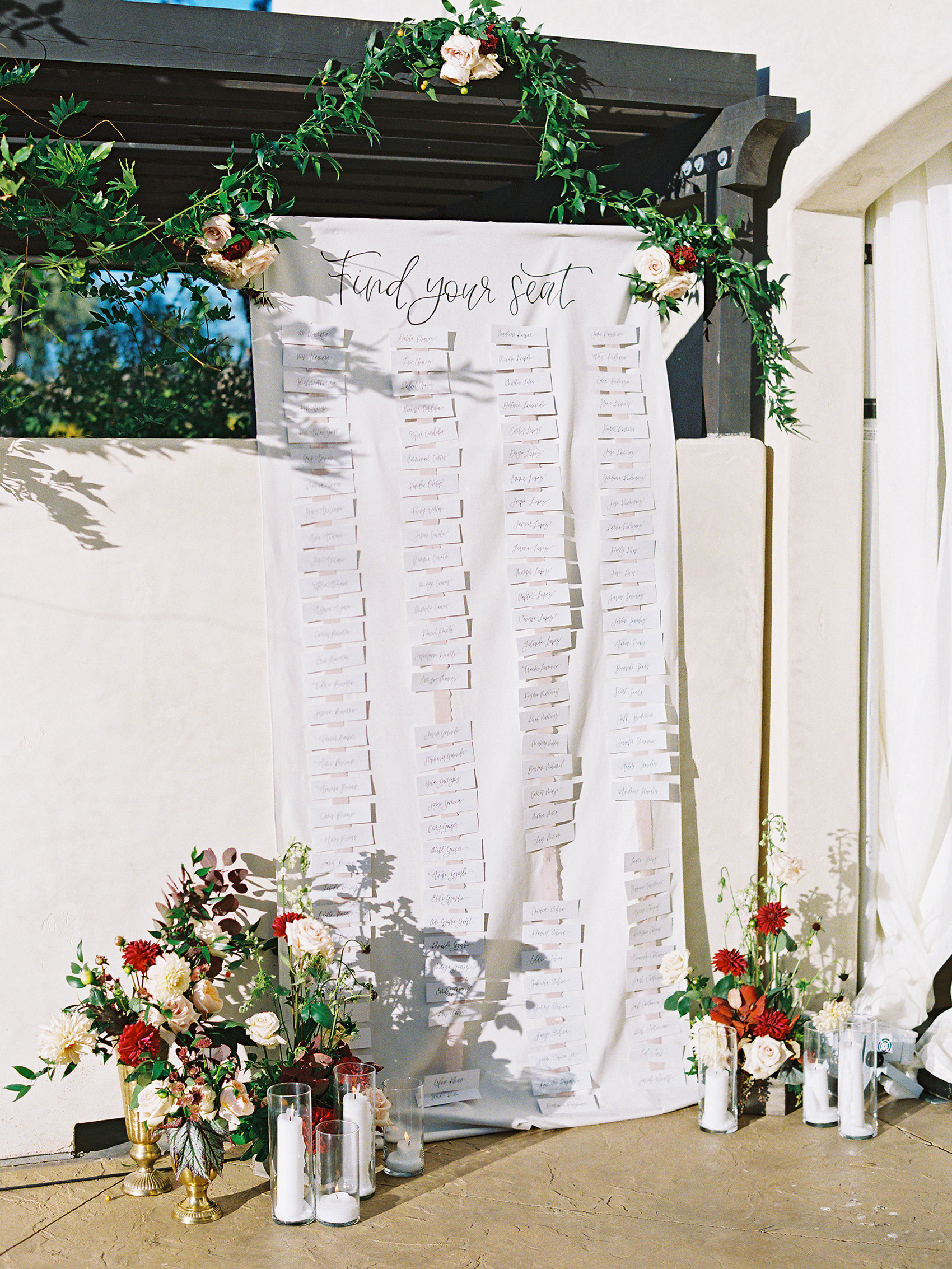 dianna amar wedding seating chart