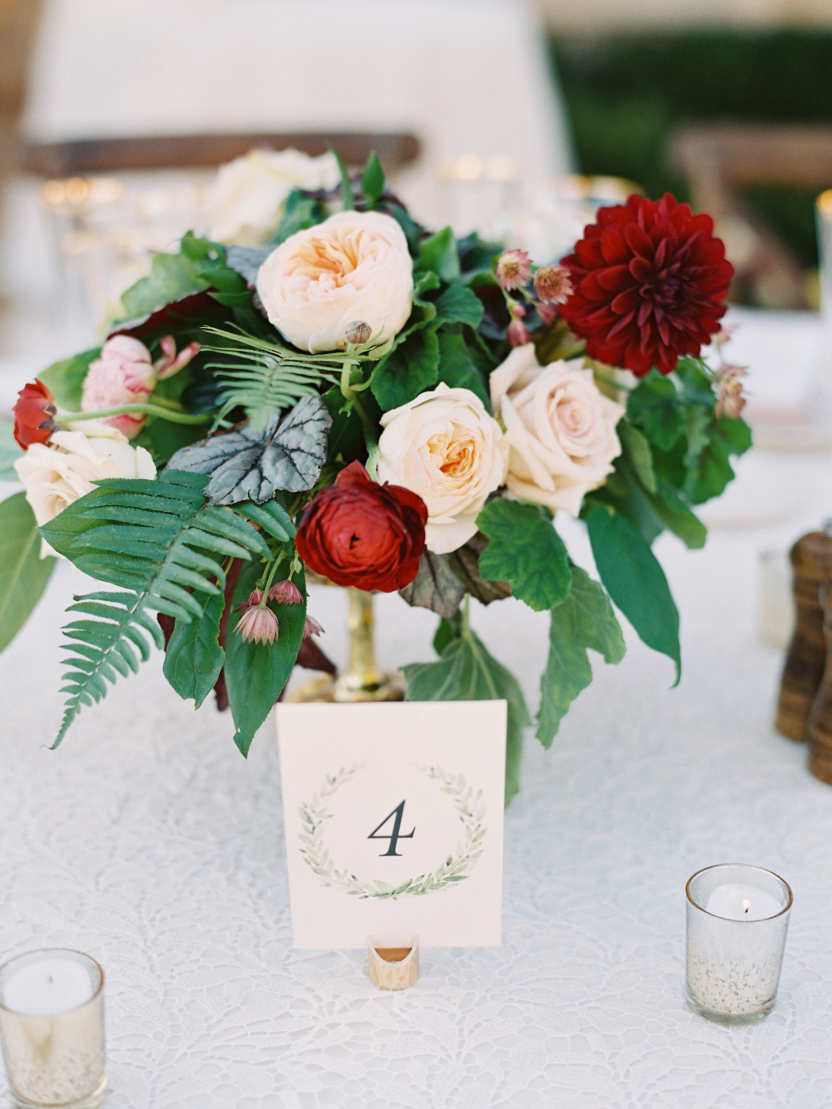 dianna amar wedding centerpieces
