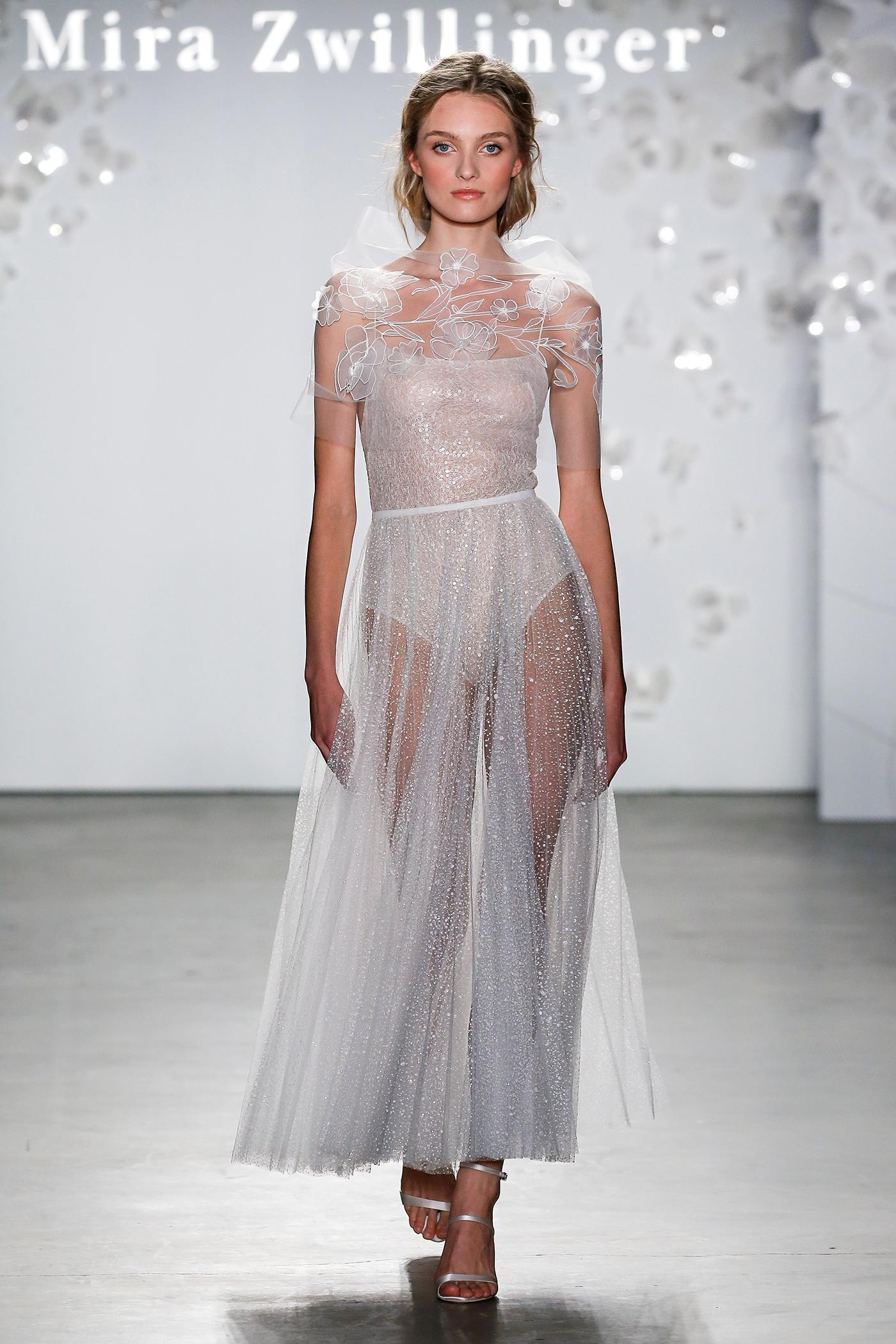 mira zwillinger sheer embellished wedding dress spring 2020