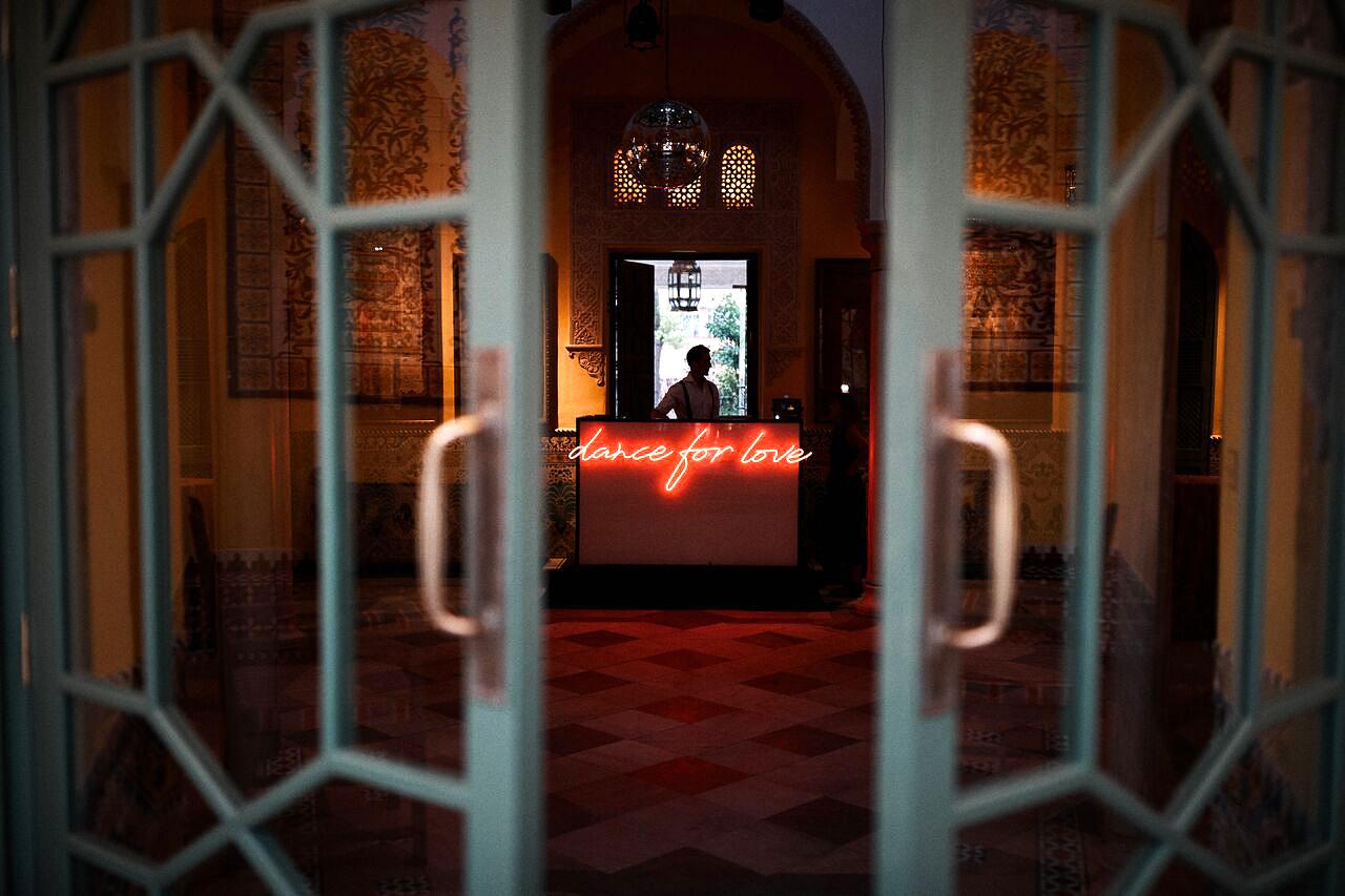 karolina sorab wedding neon sign dance for love