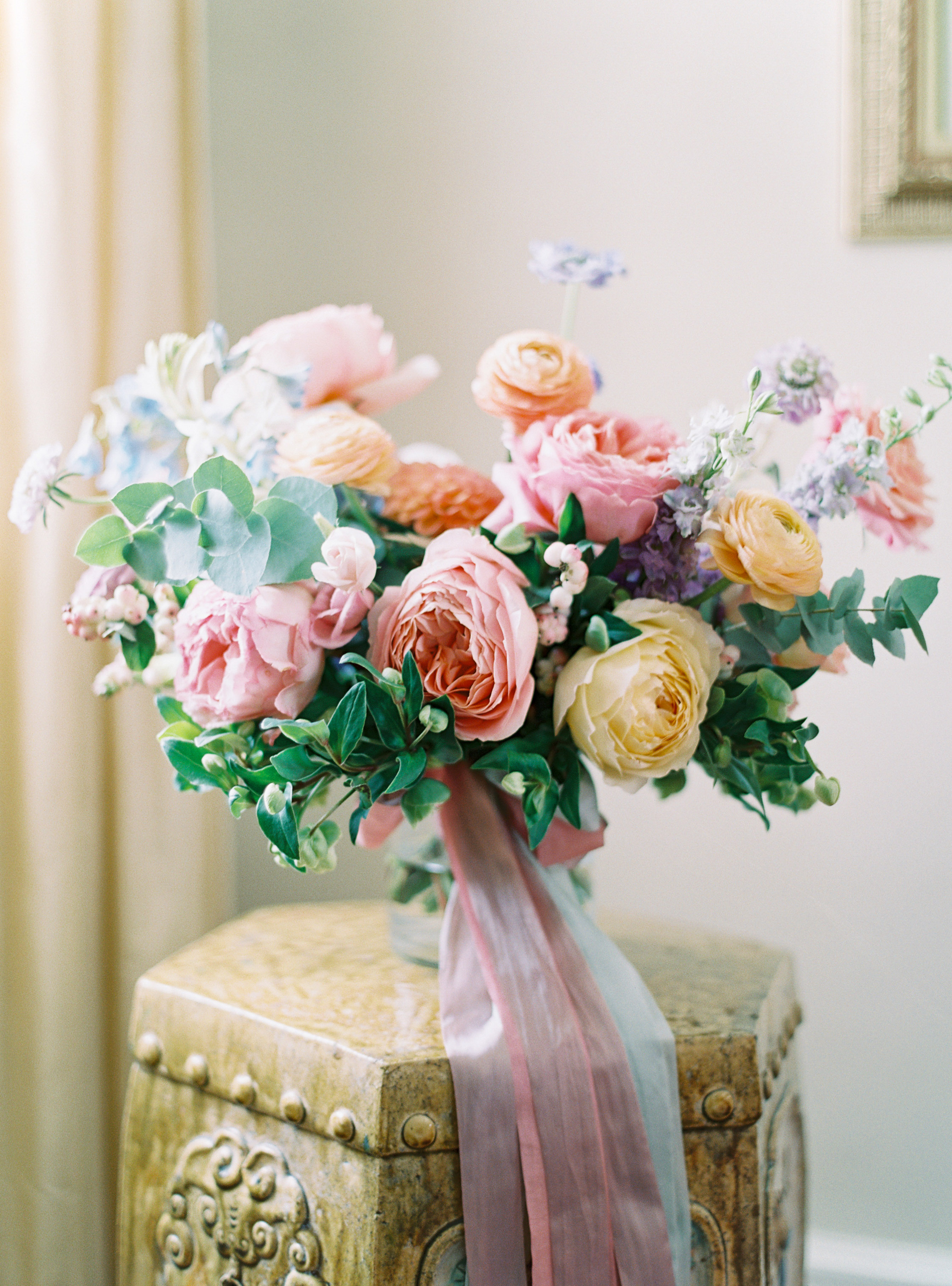 shelby preston wedding bouquet