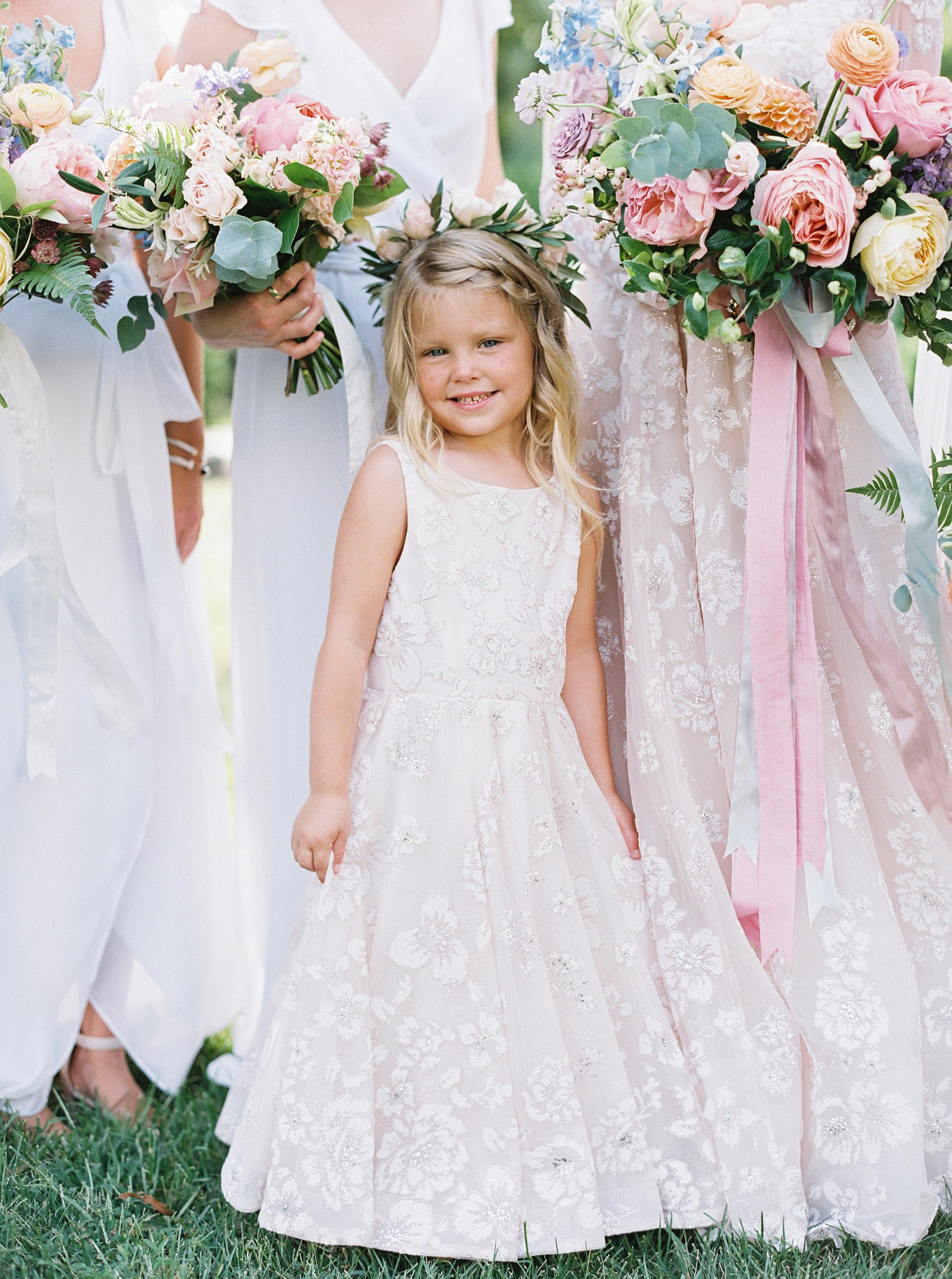 shelby preston wedding flower girl