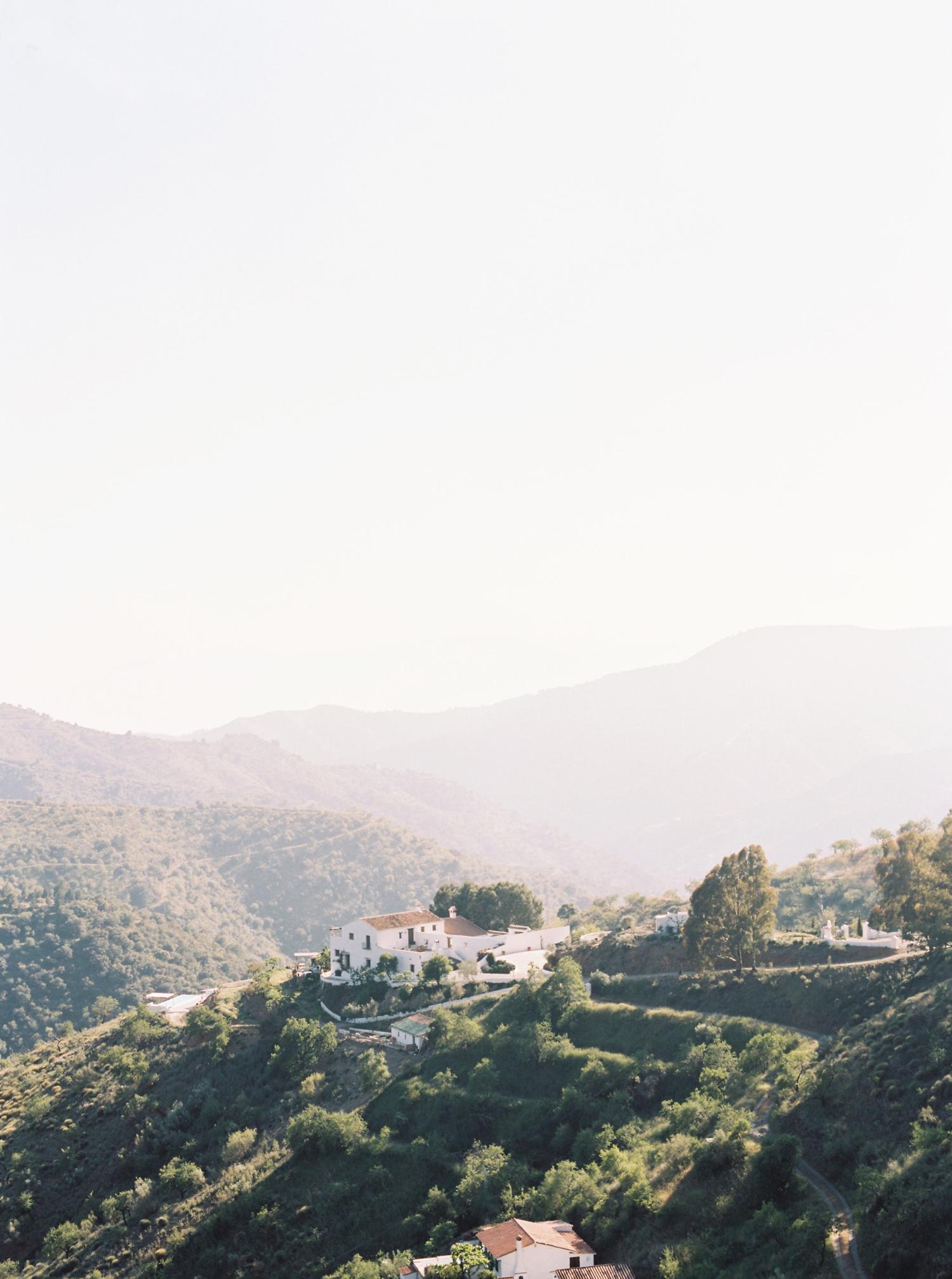 daphne jack wedding spain village landscape