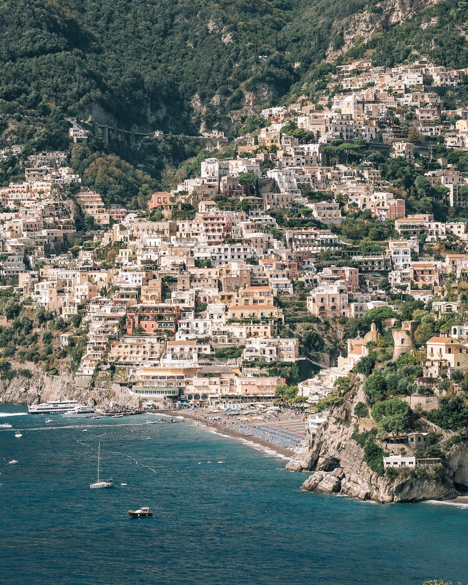cara david wedding italian coast