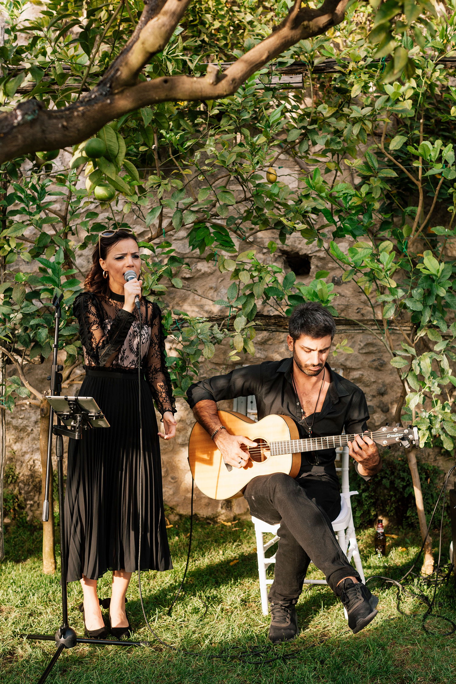 cara david wedding musicians