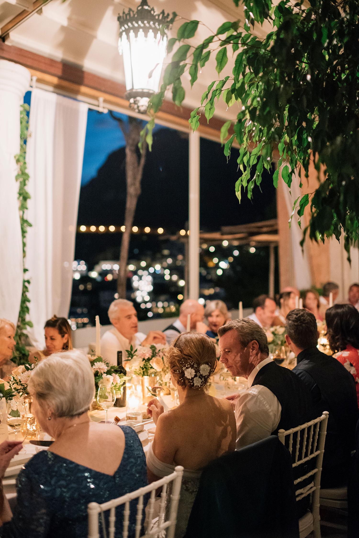 cara david wedding reception