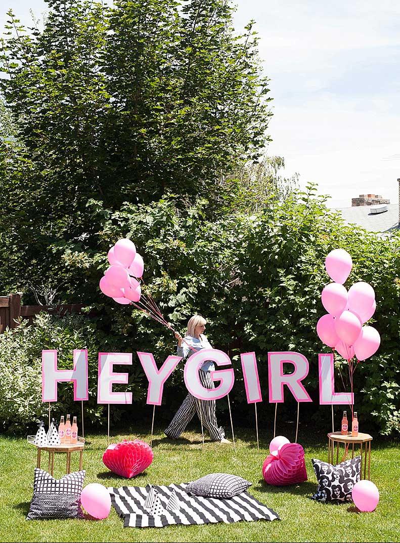 hey girl lounge area outdoor