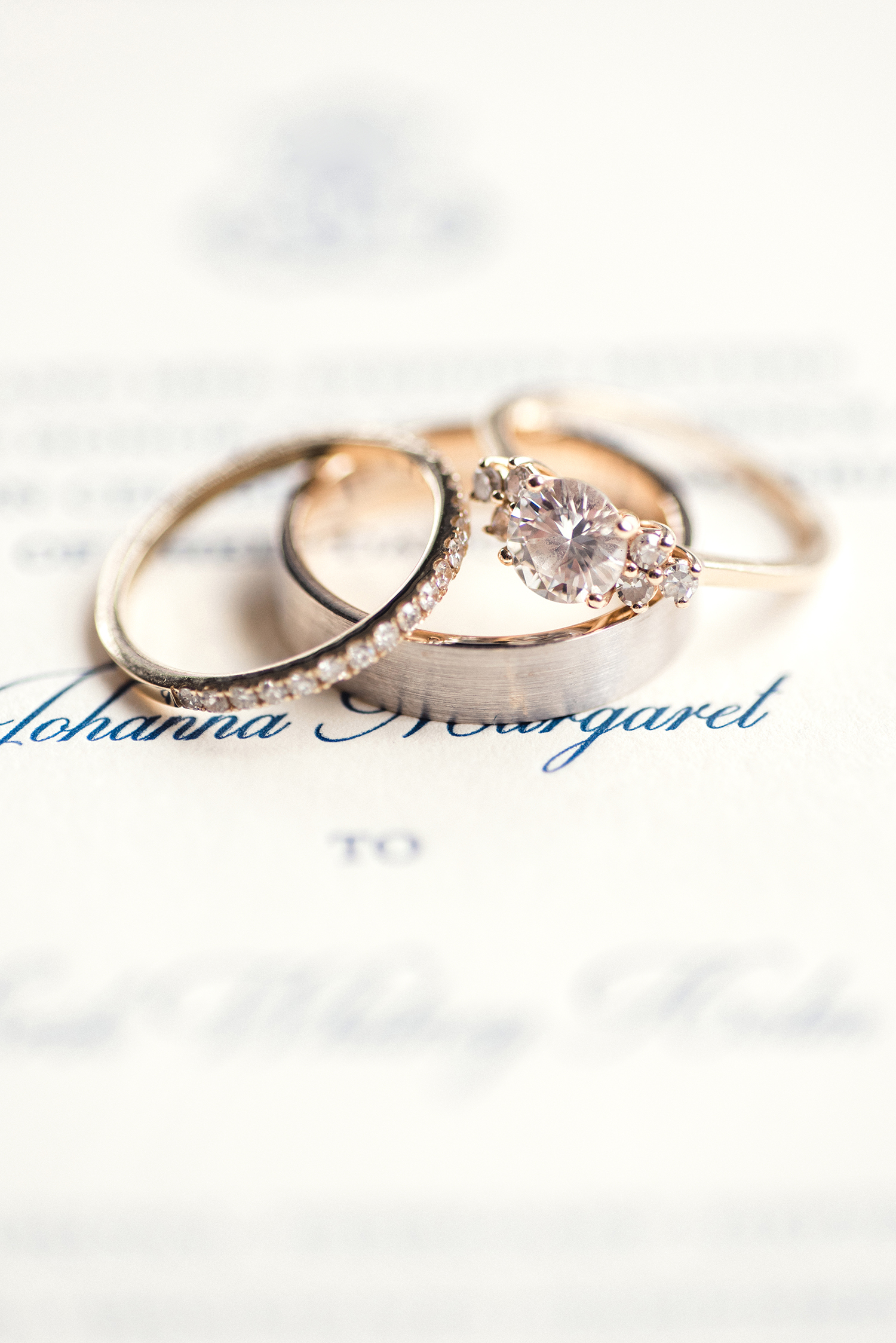 johanna erik wedding rings