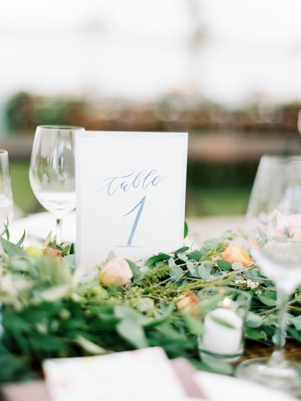 lauren josh wedding table numbers