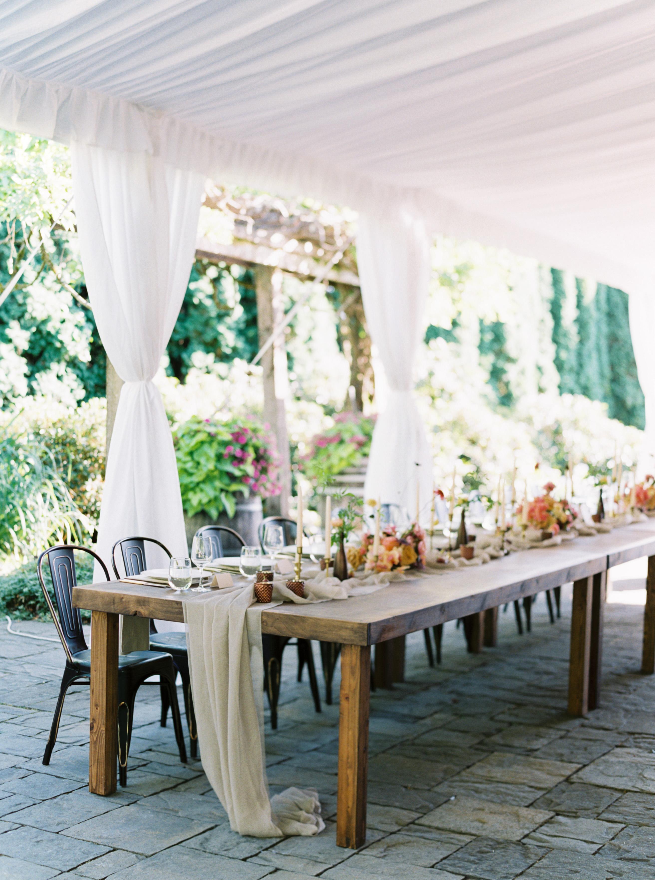 paige matt wedding reception
