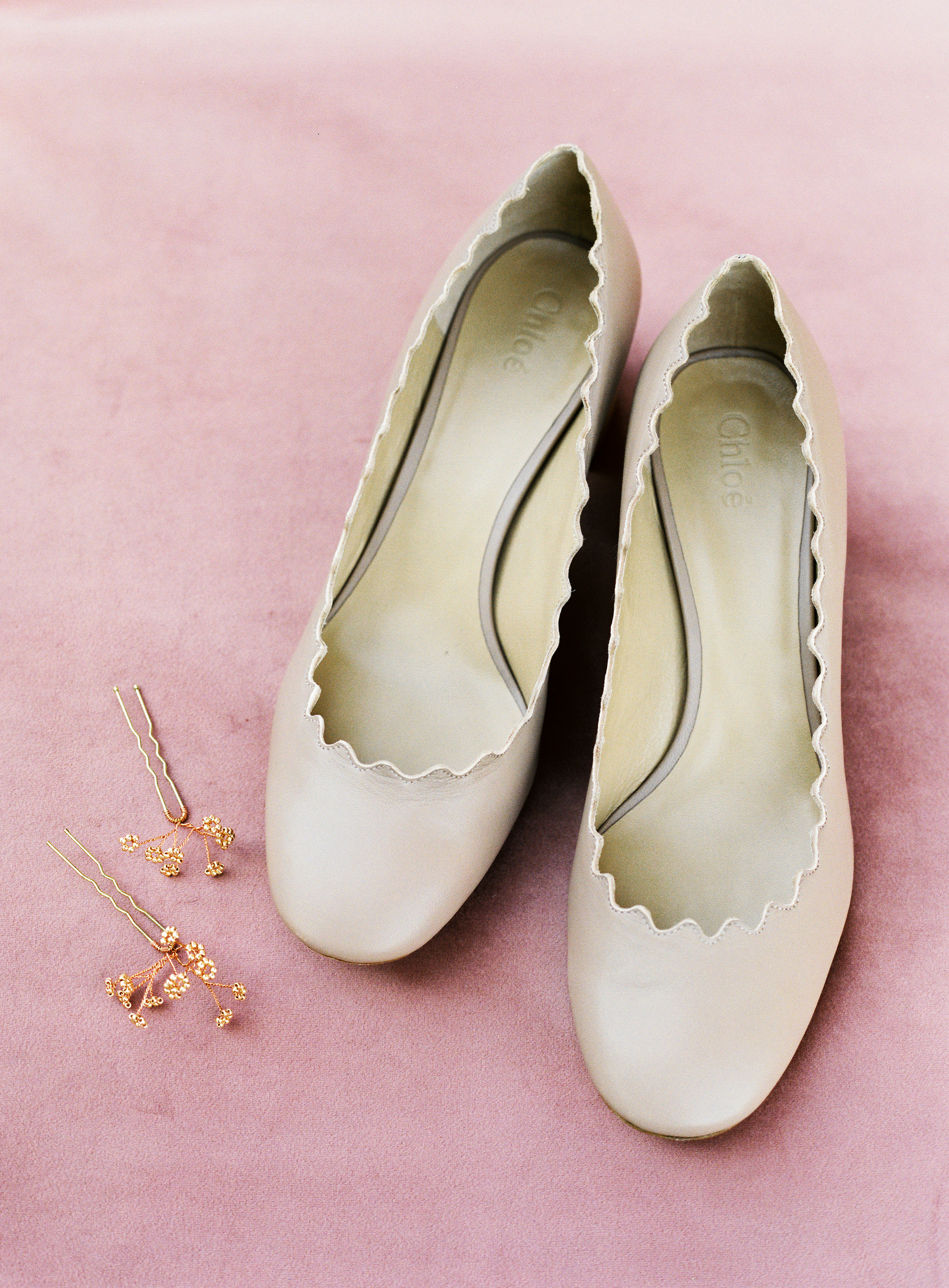stefanie terrel wedding bride shoes