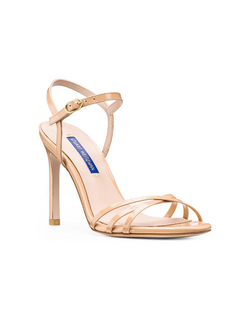 high heeled sandals bridesmaid shoes
