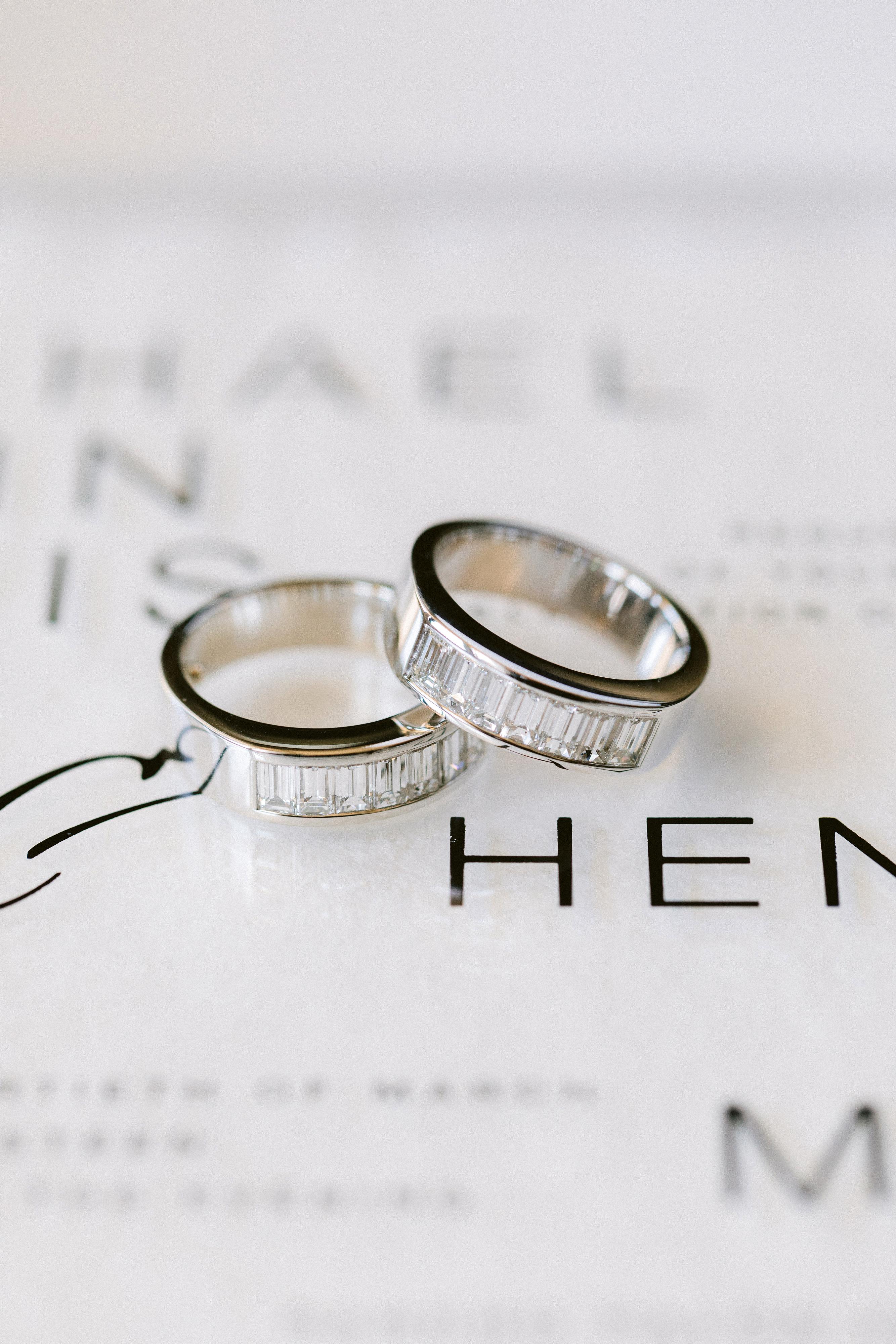 henery michael wedding bands