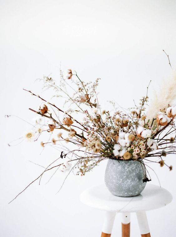 slate stone vase