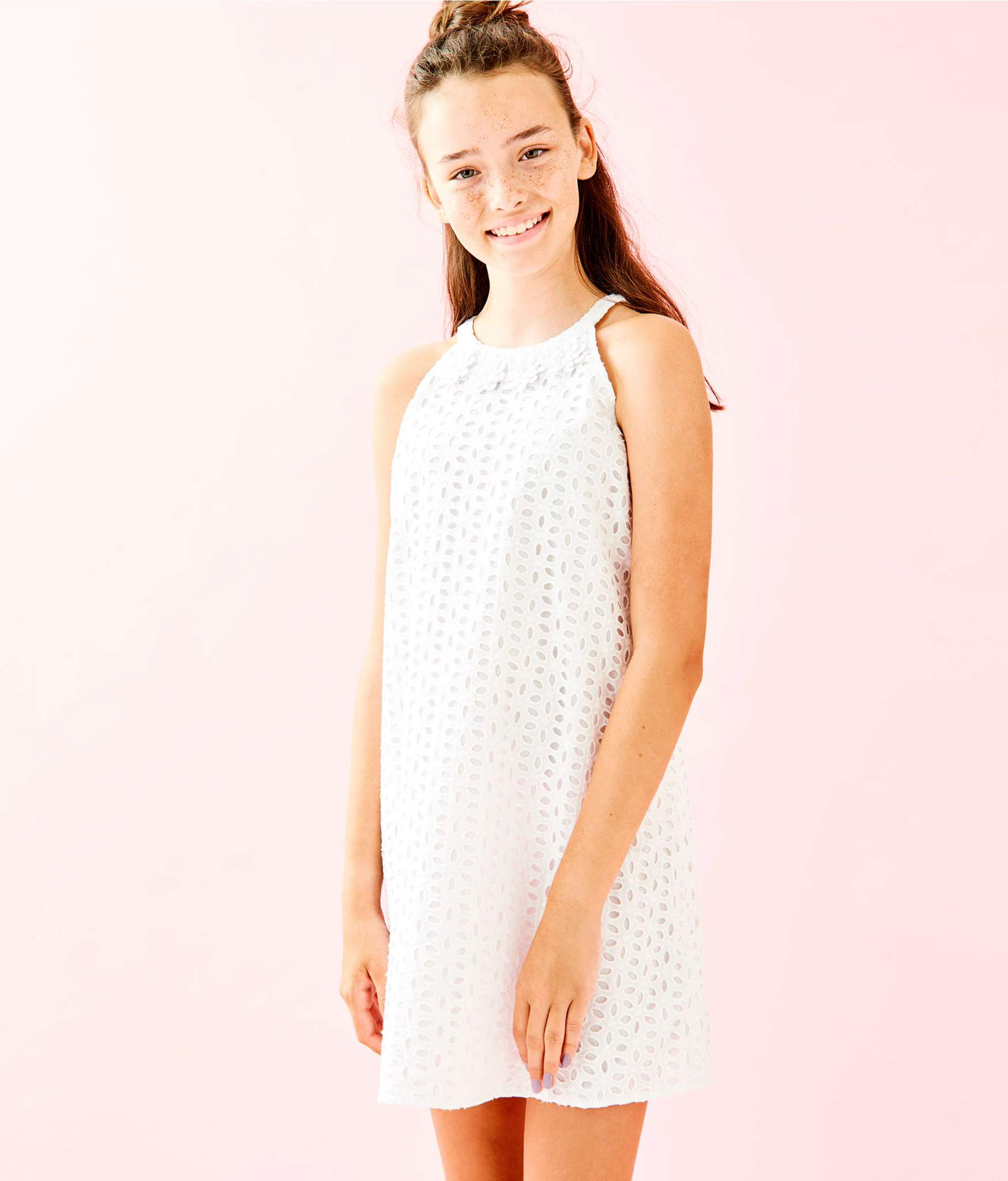 Lilly Pulitzer Mini Pearl Shift Dress
