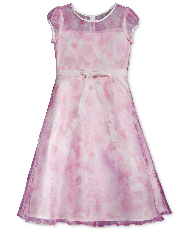 Lavender Us Angels Floral Dress