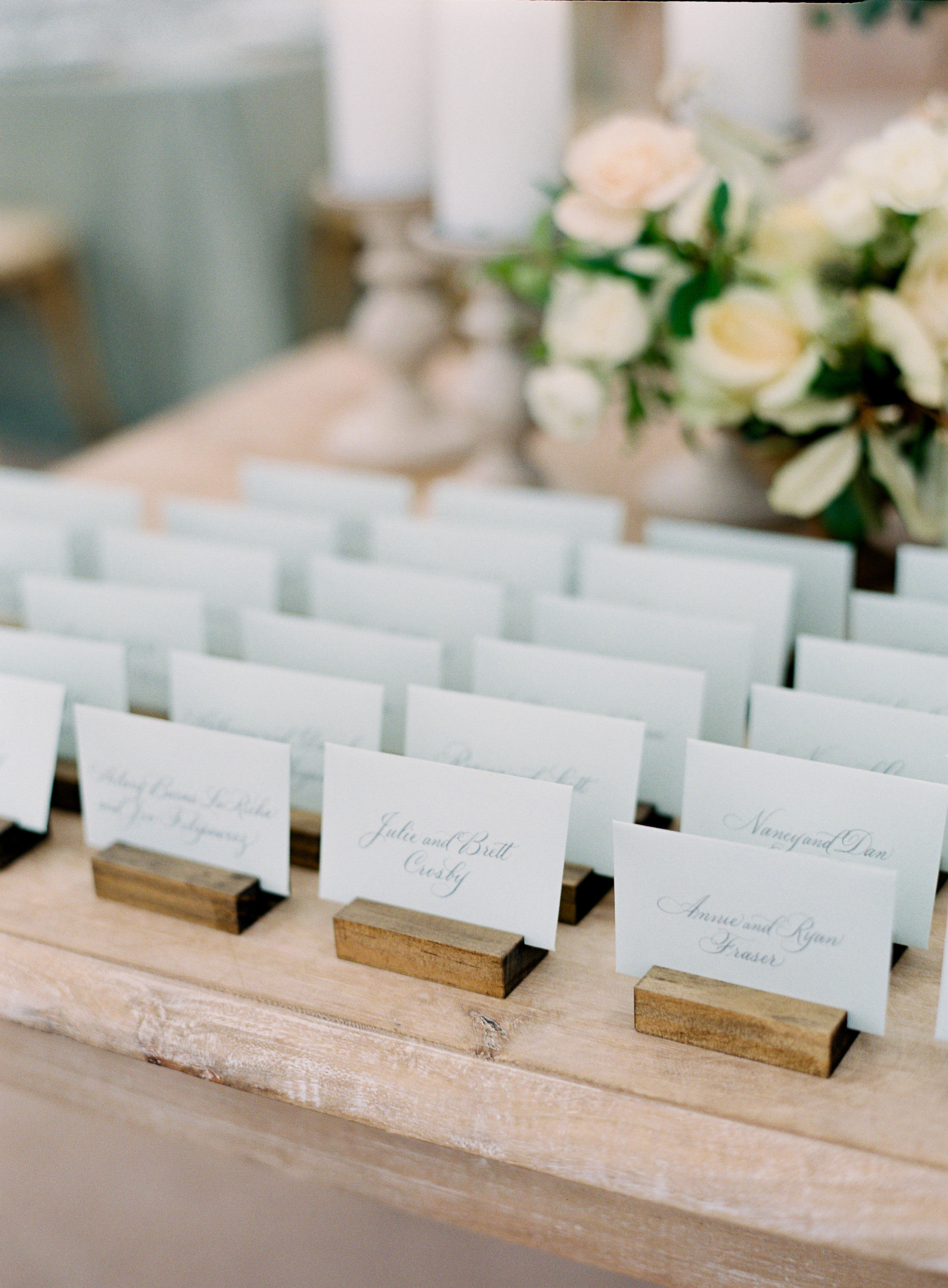 lauren alex wedding escort cards