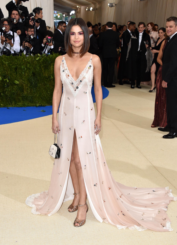 Selena Gomez Met Gala 2017 Dress