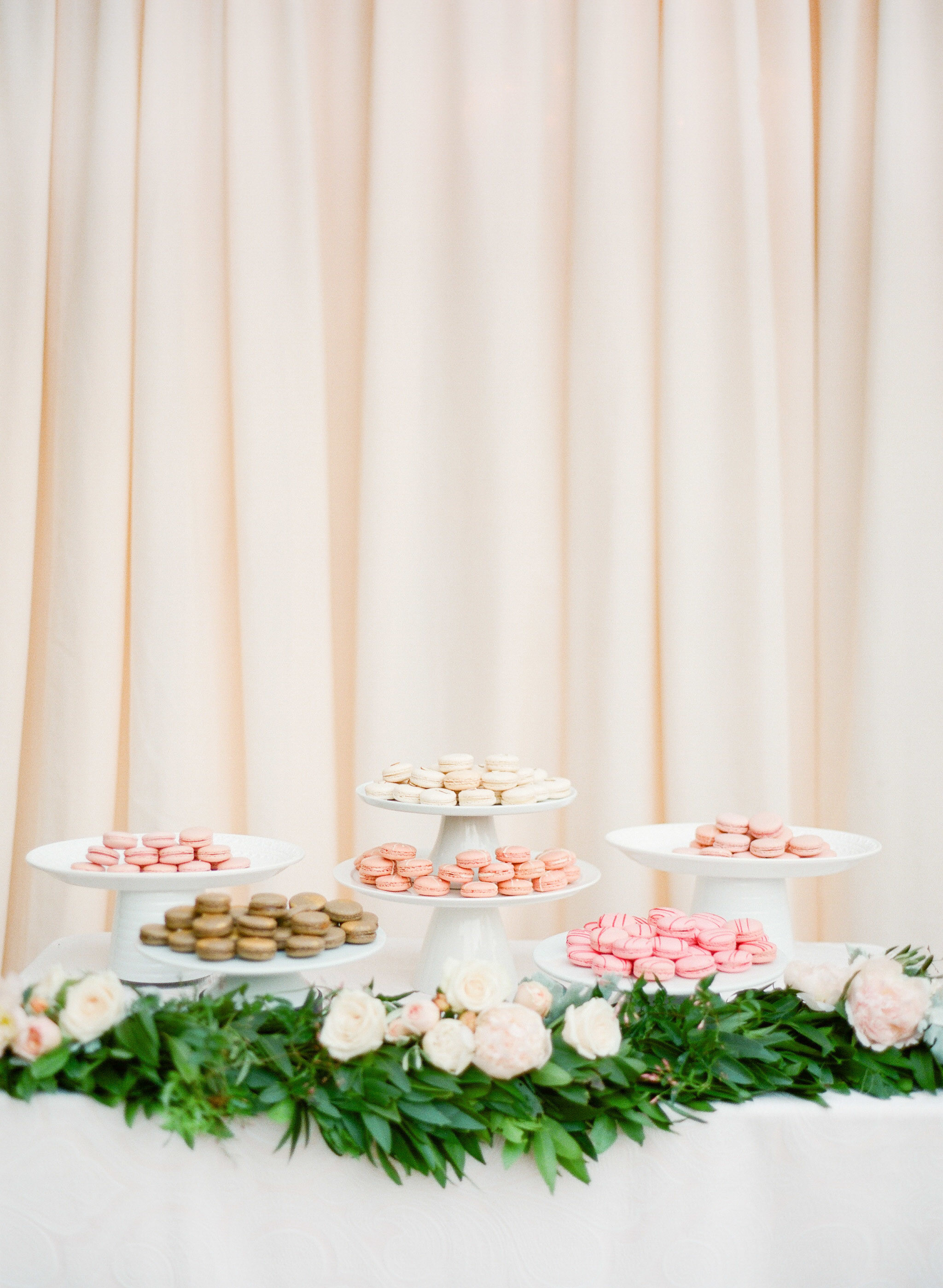 bridal shower food table